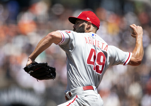 """Arrieta fumes on Phillies, """"worst in the league with shifts"""""""