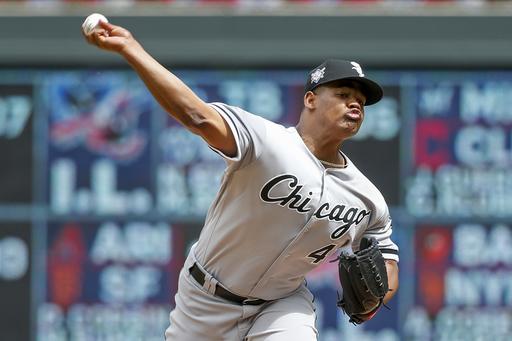 Escobar's 3-run homer powers Twins past White Sox 4-2