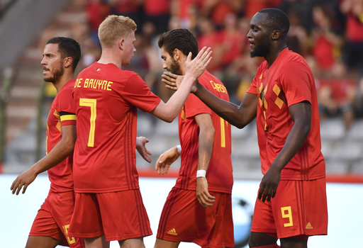 Lukaku, Hazard on target as Belgium beats Egypt 3-0