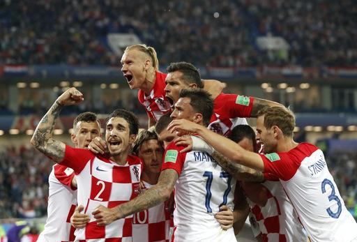 Modric scores 1, sets up another as Croatia tops Nigeria 2-0