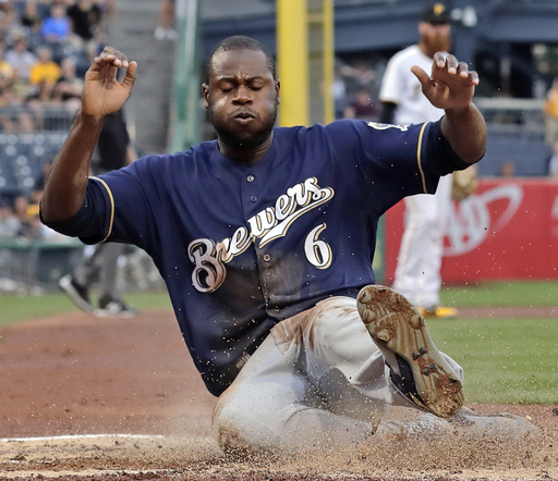 Brewers activate Cain, place Braun and Pina on DL