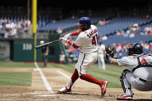 Home runs lift Phillies past Cardinals 4-3
