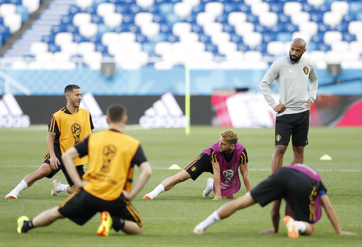 World Cup winner Thierry Henry now training Belgium strikers