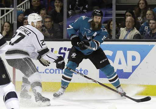 Sharks re-sign Joe Thornton to 1-year deal