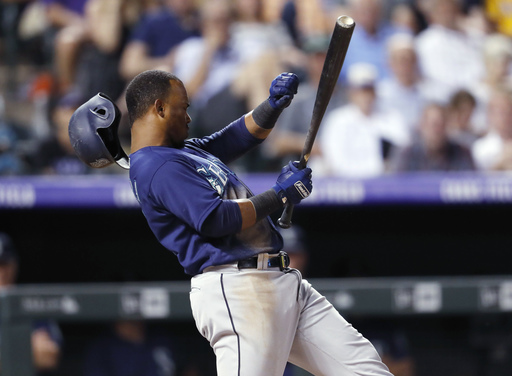 Story homers, drives in 4 as Rockies beat Mariners 10-7