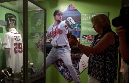 Change, tradition; a walk through the Baseball Hall of Fame