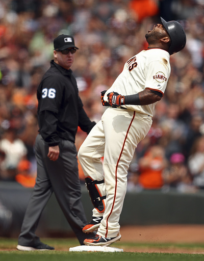 Posey's 4 hits help Giants end skid against Brewers