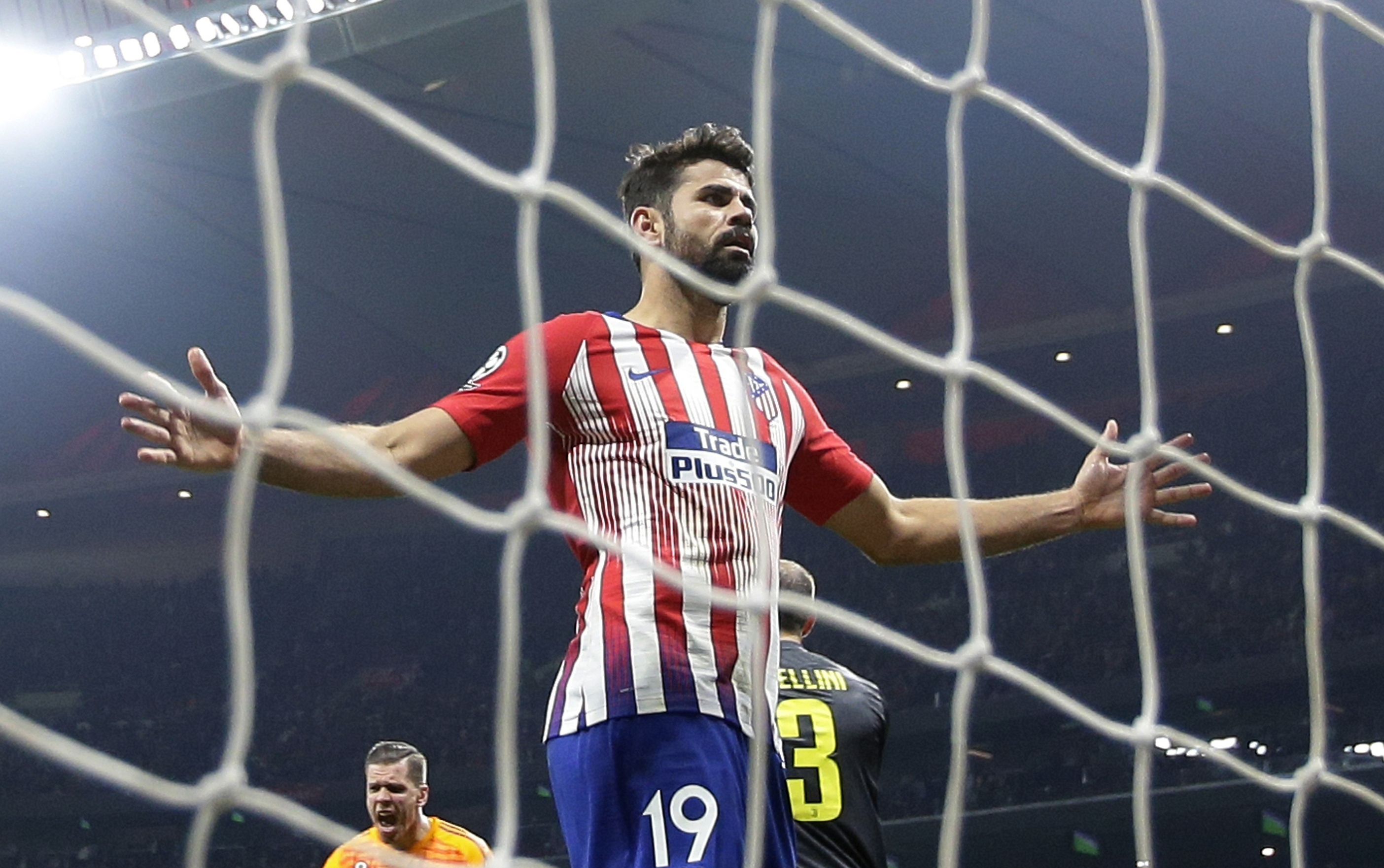 Diego Costa injures ankle in Atletico Madrid friendly