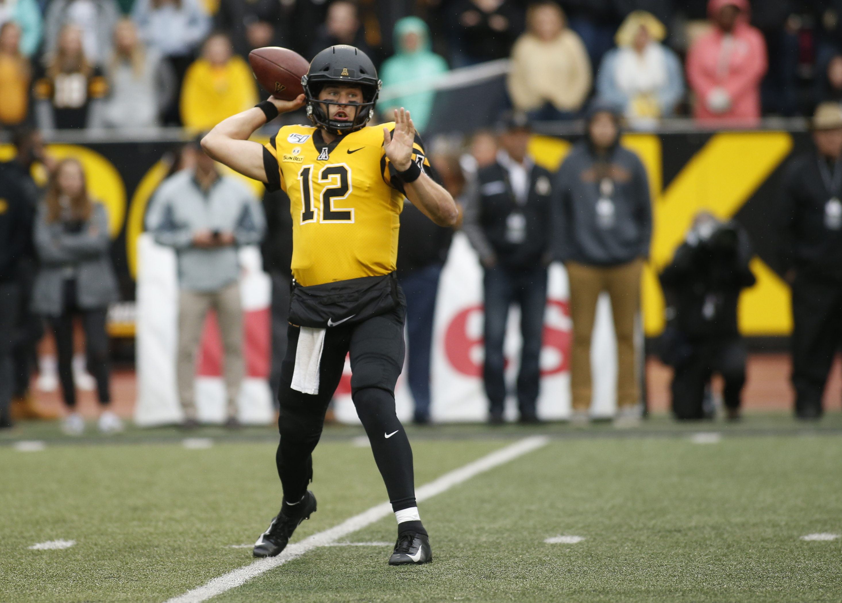 No. 21 Appalachian State visits struggling South Alabama