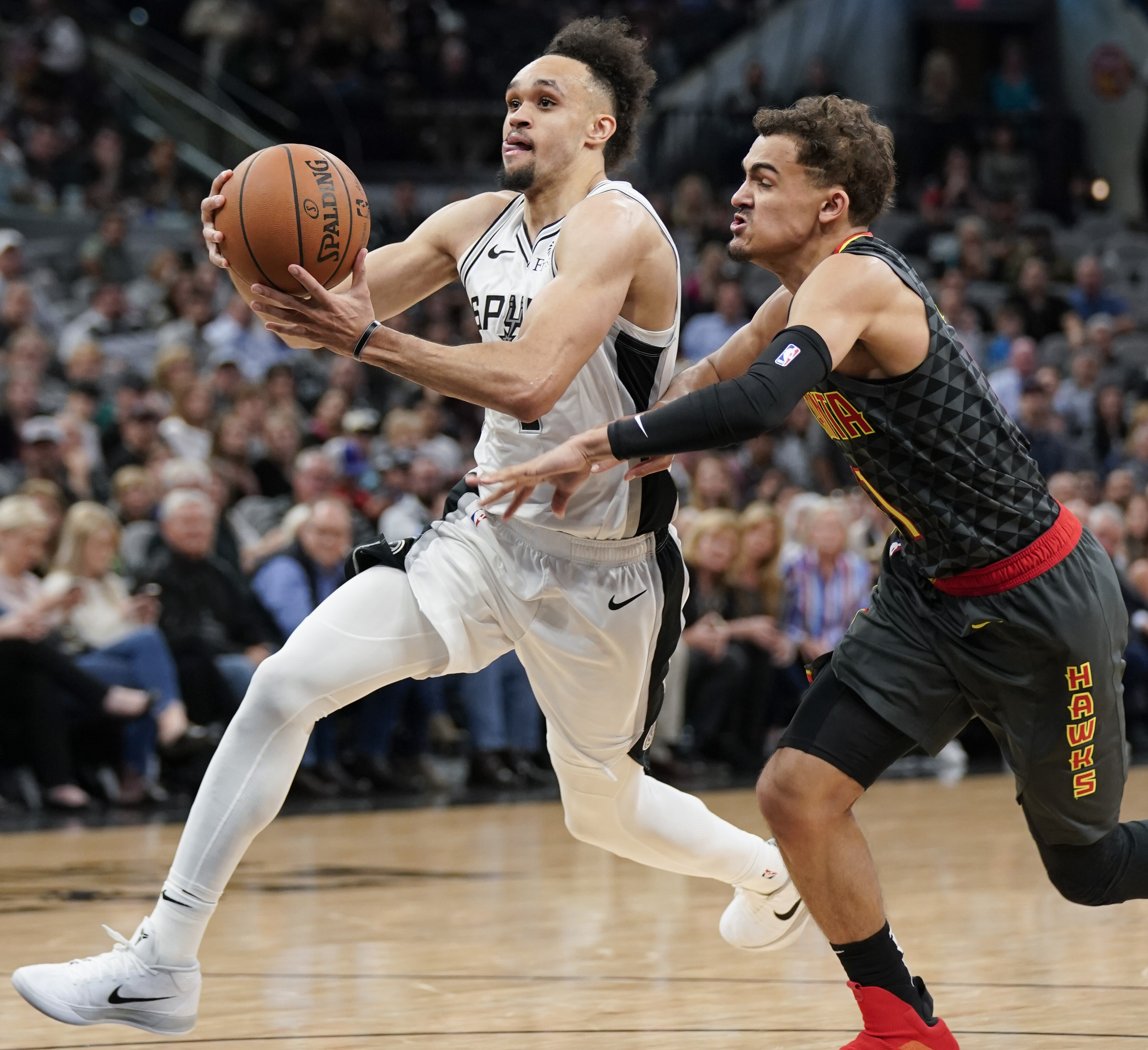 Spurs' Derrick White takes leadership role into playoffs