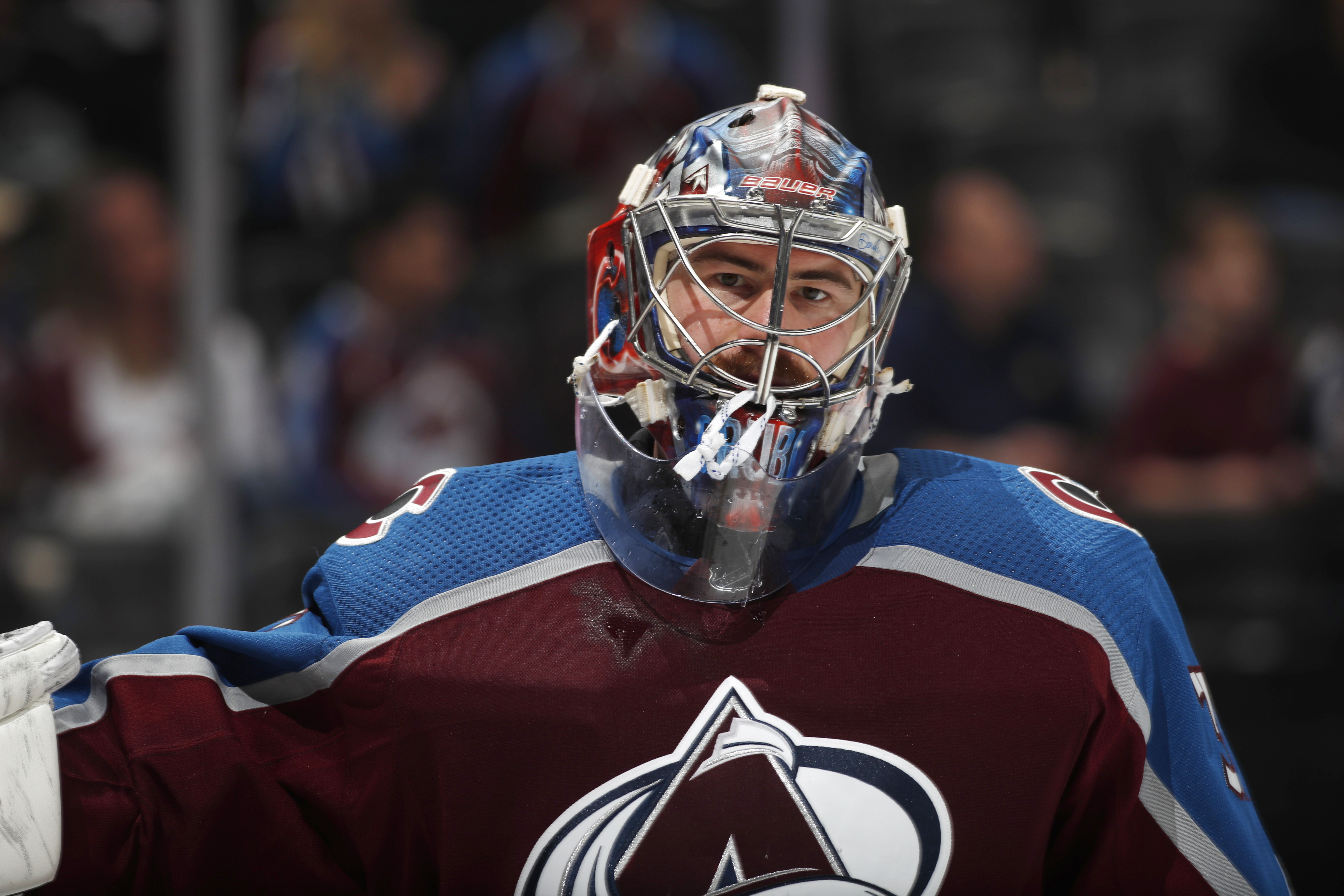 Grubauer shines down the stretch to propel Avs into playoffs