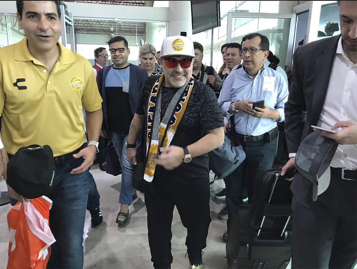 Maradona to coach soccer club in Mexico's cartel heartland