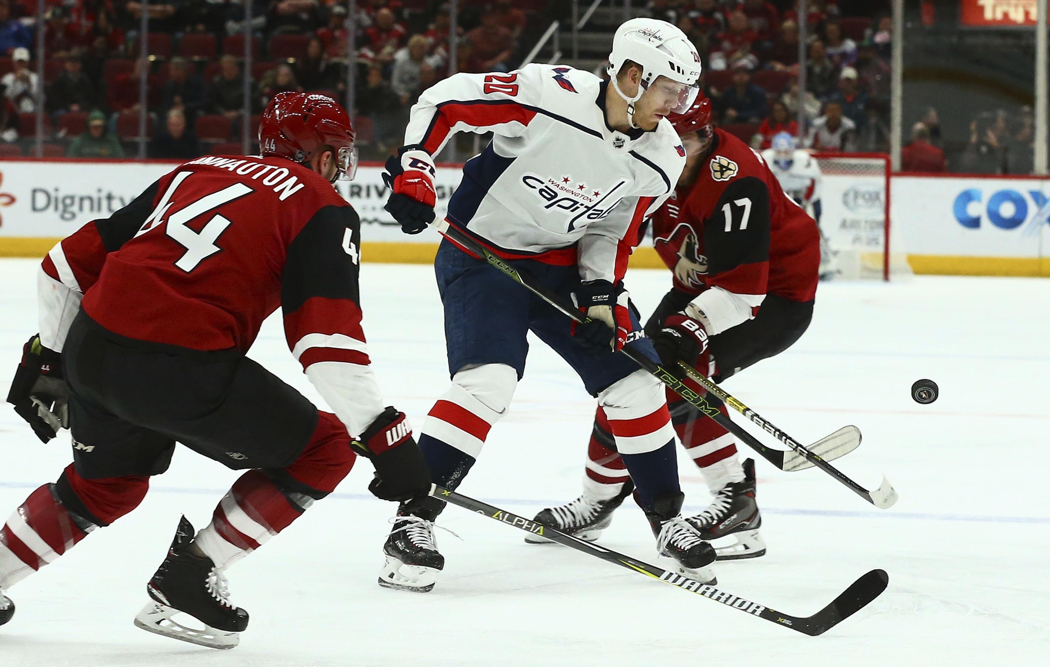 Burakovsky's goal sends Capitals to 4-2 win over Coyotes