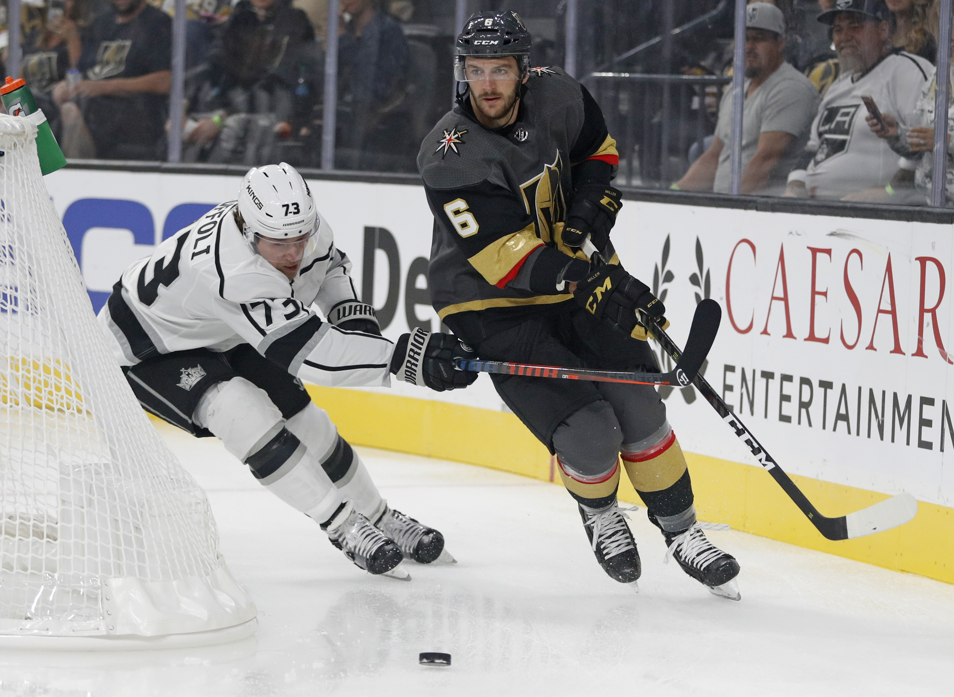 Golden Knights trade defenseman Colin Miller to Sabres
