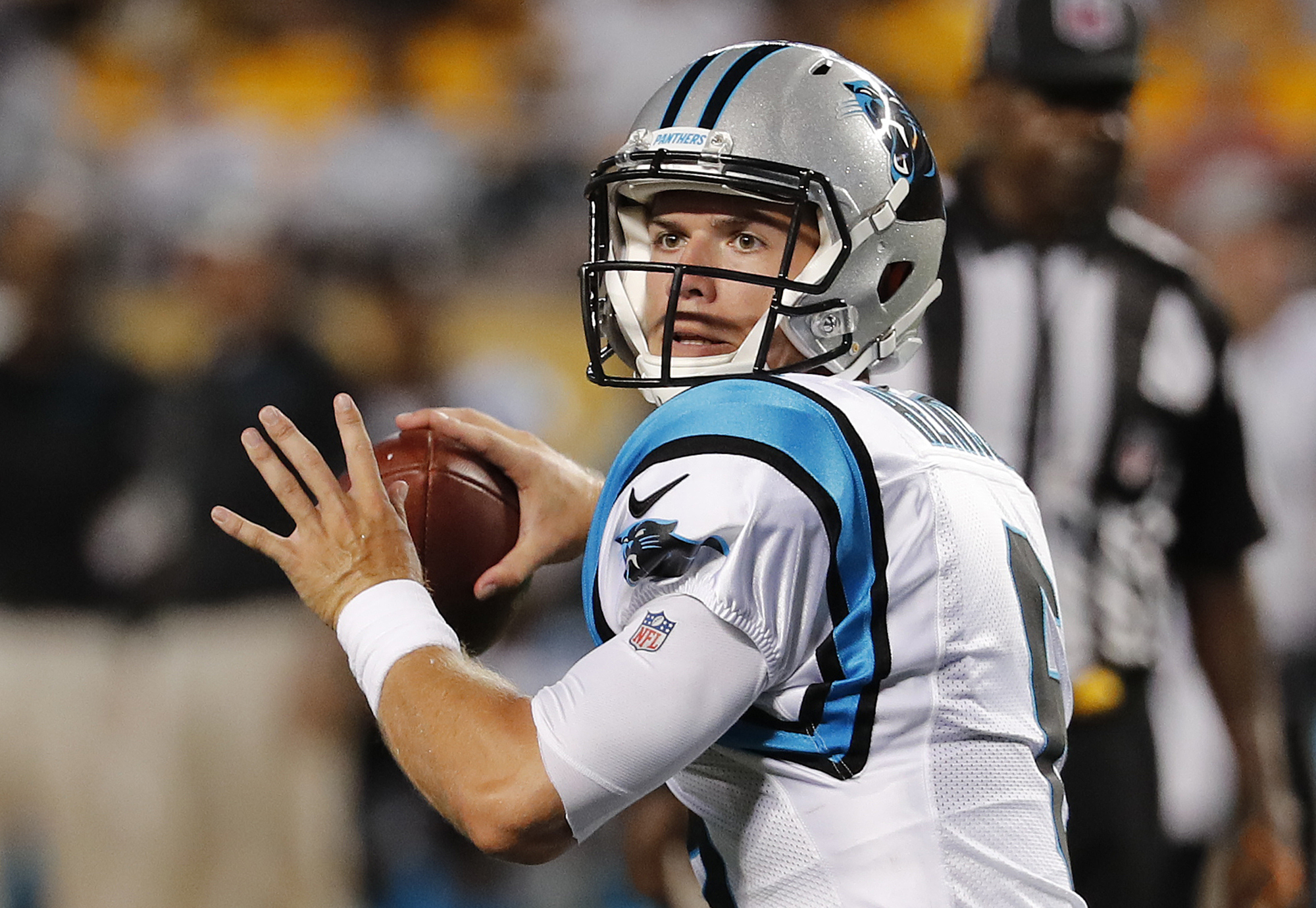 Panthers choose Heinicke over Gilbert as No. 2 QB