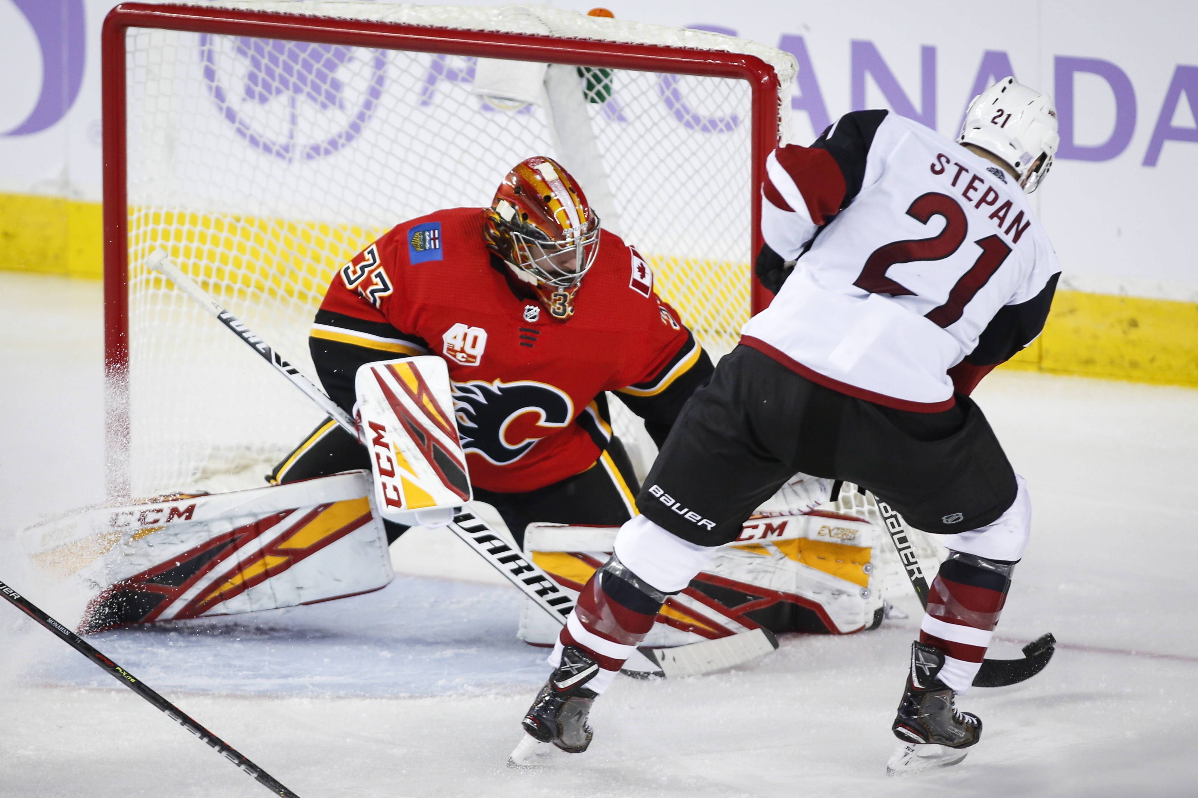 Tkachuk scores in OT to give Flames 4-3 win over Coyotes