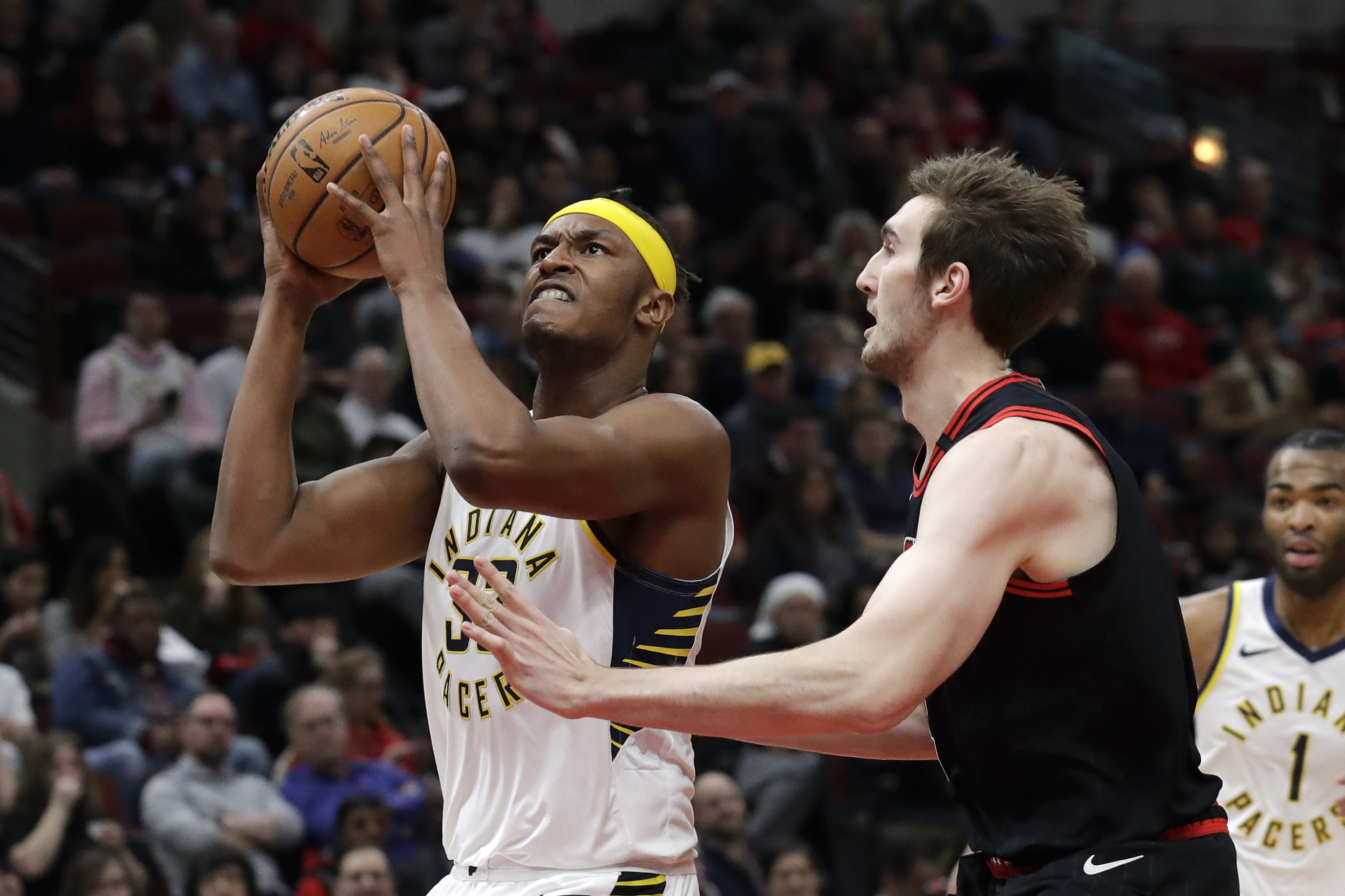 Turner has 27 points, 14 boards as Pacers beat Bulls 116-105