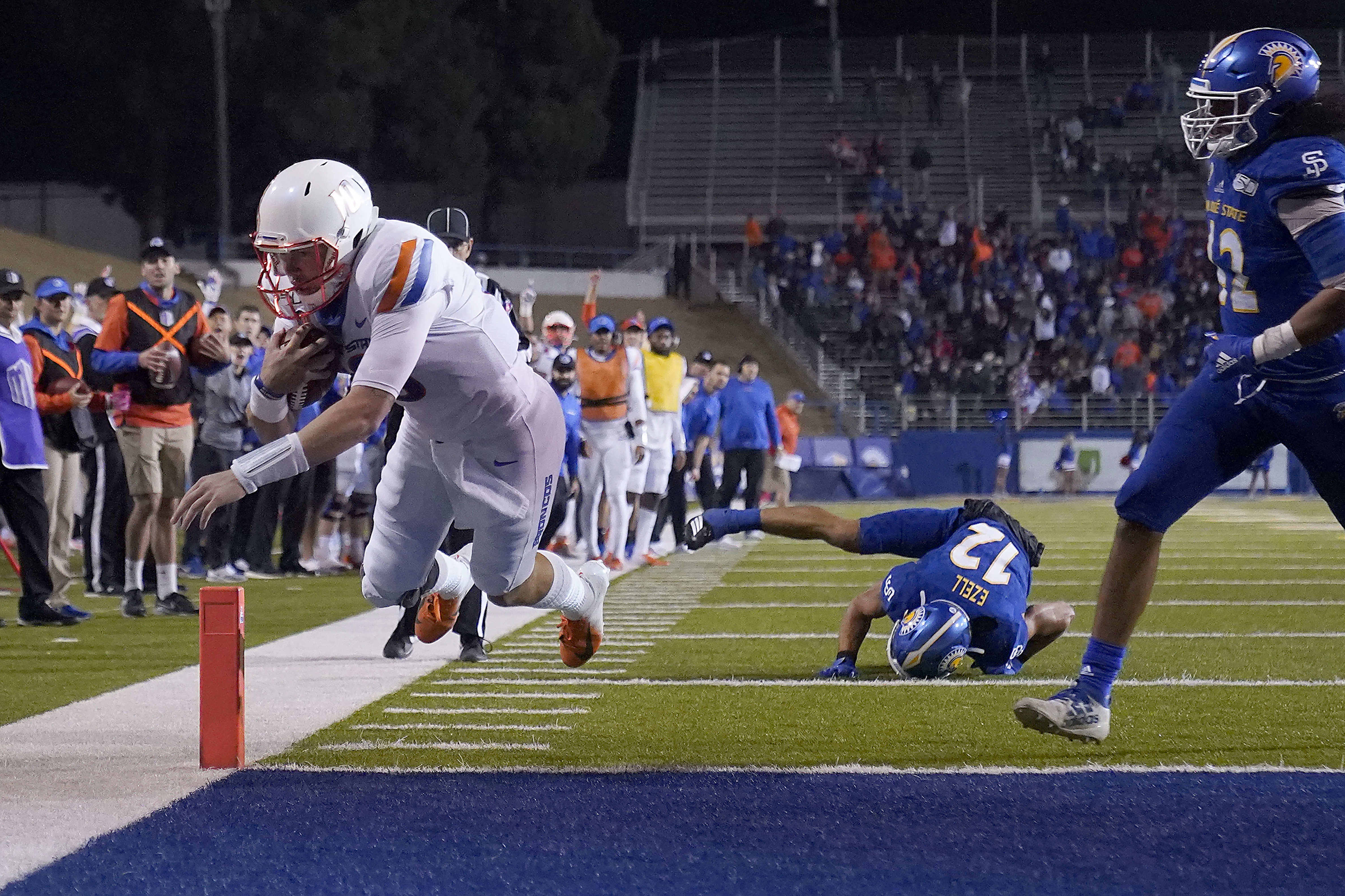 No. 21 Boise State returns home to host upstart Wyoming