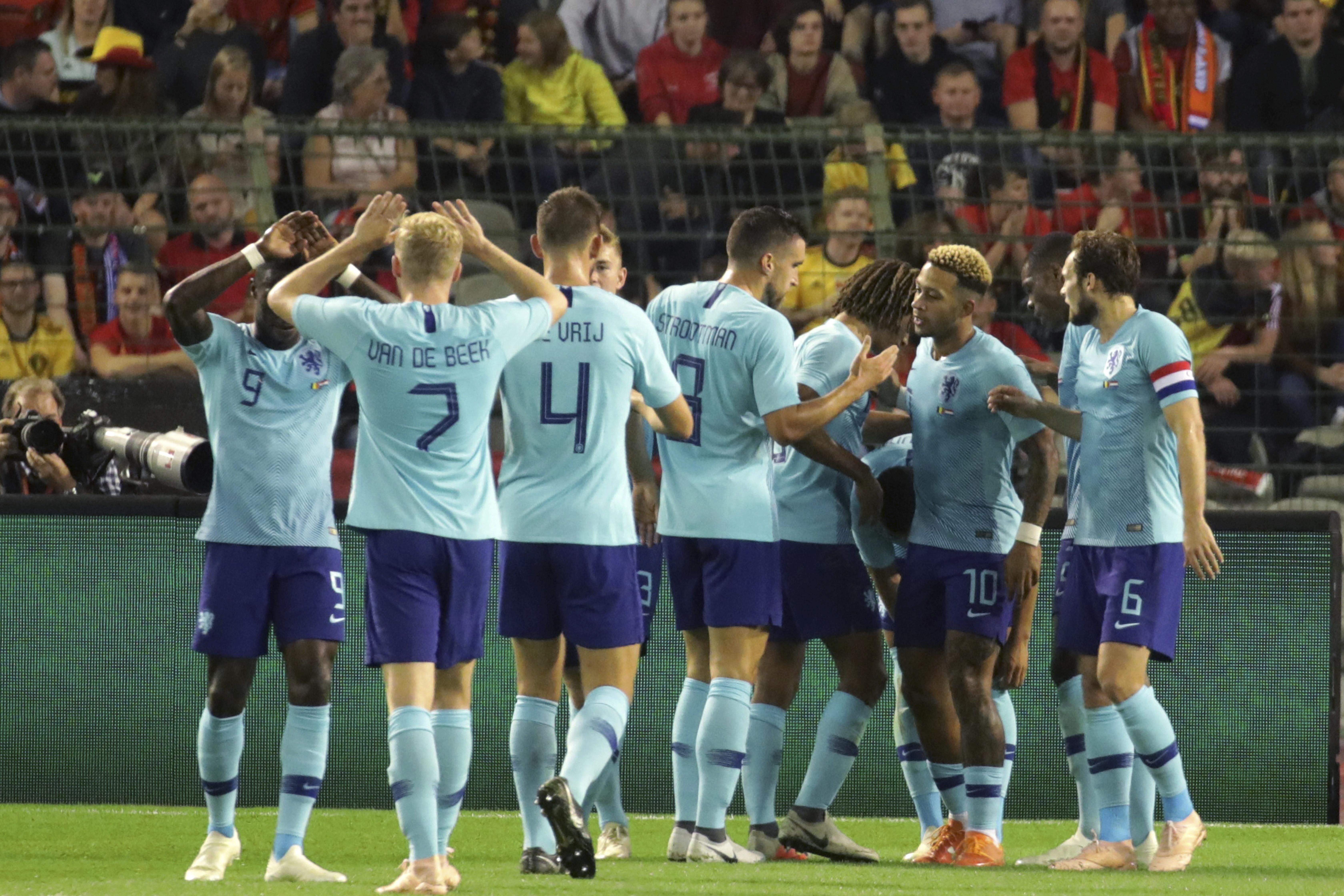 Groeneveld scores as Netherlands draws 1-1 with Belgium