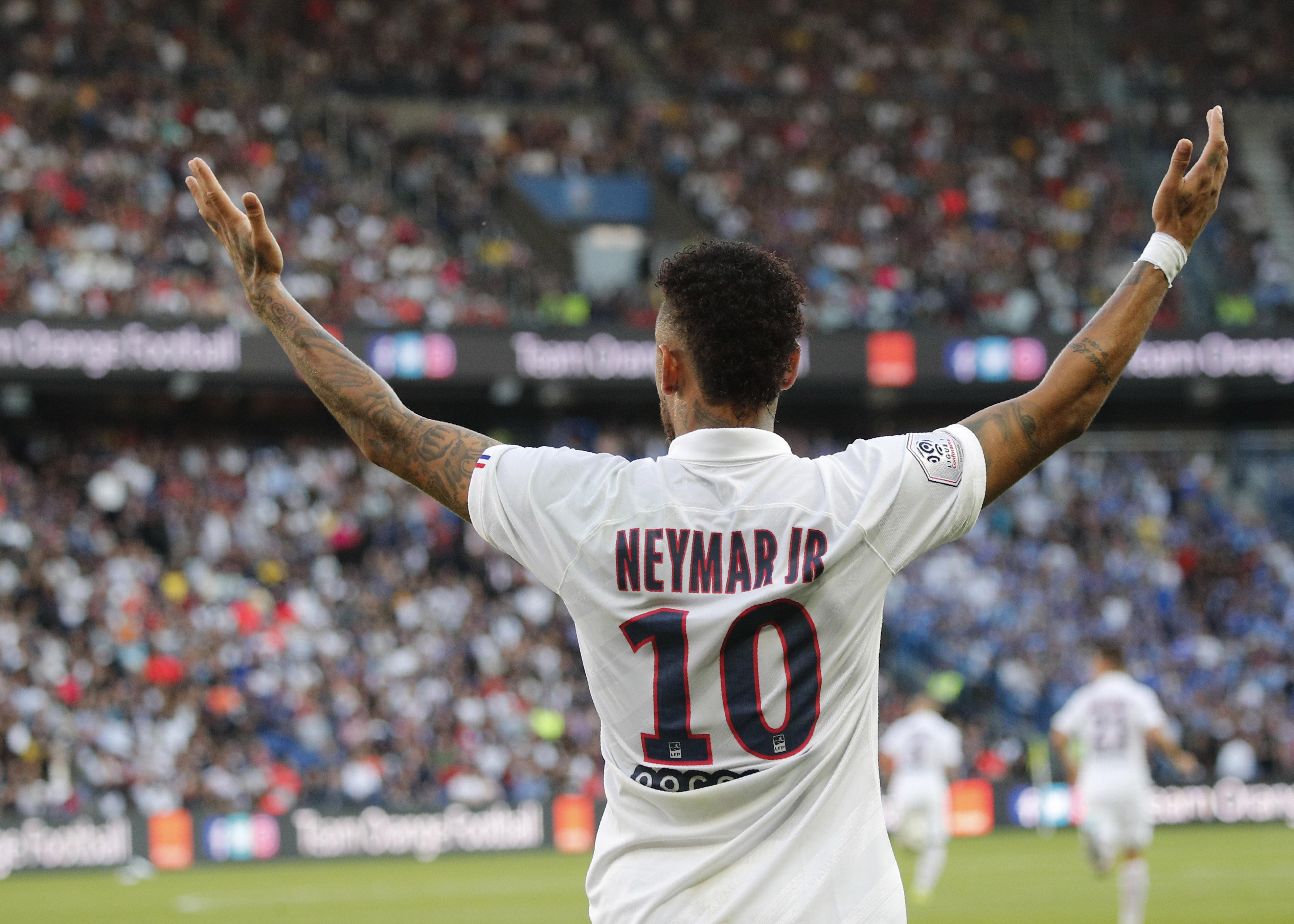 Neymar's Champions League ban cut to 2 games