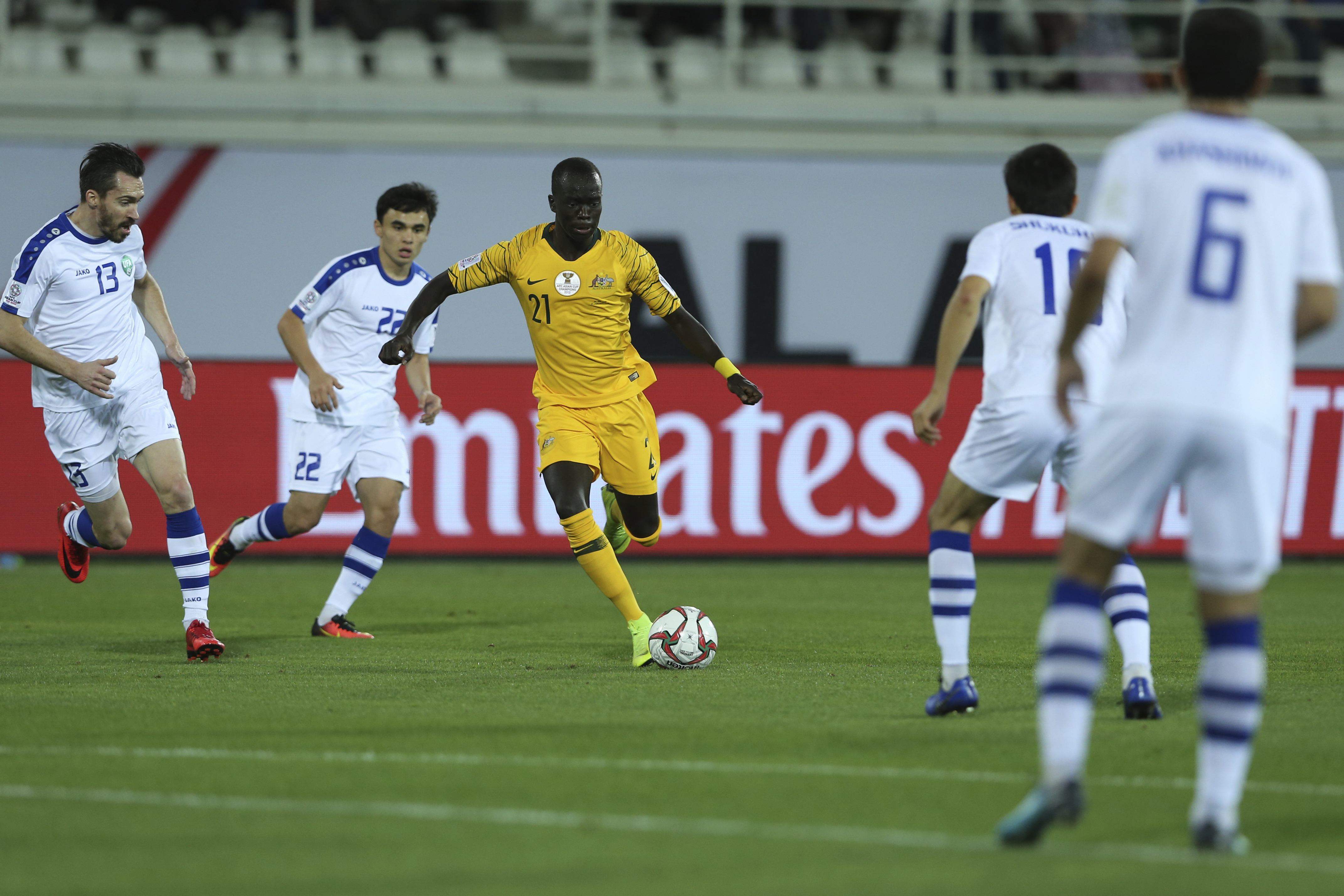 Sister of Australia forward Awer Mabil dies in car accident