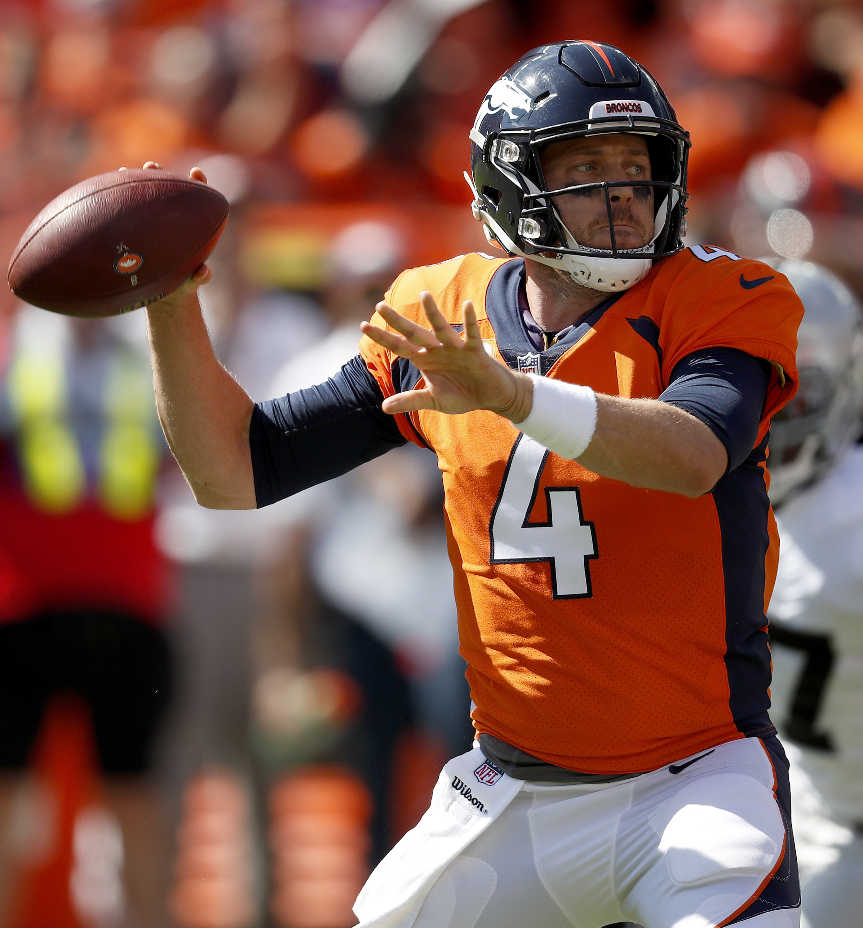 Case Keenum returns to Broncos practice after missing 1 day