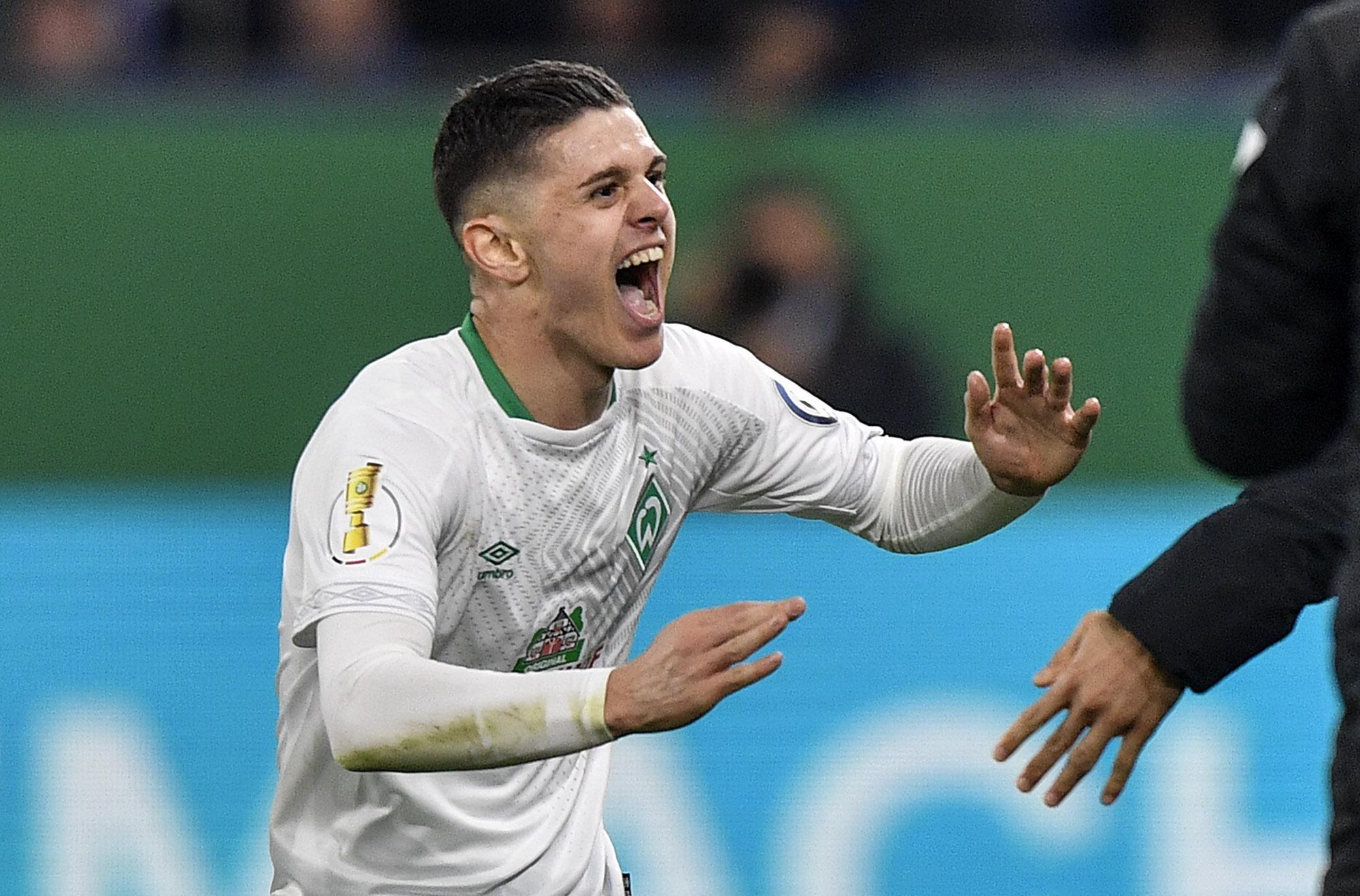 Kosovo forward Milot Rashica blossoming at Werder Bremen