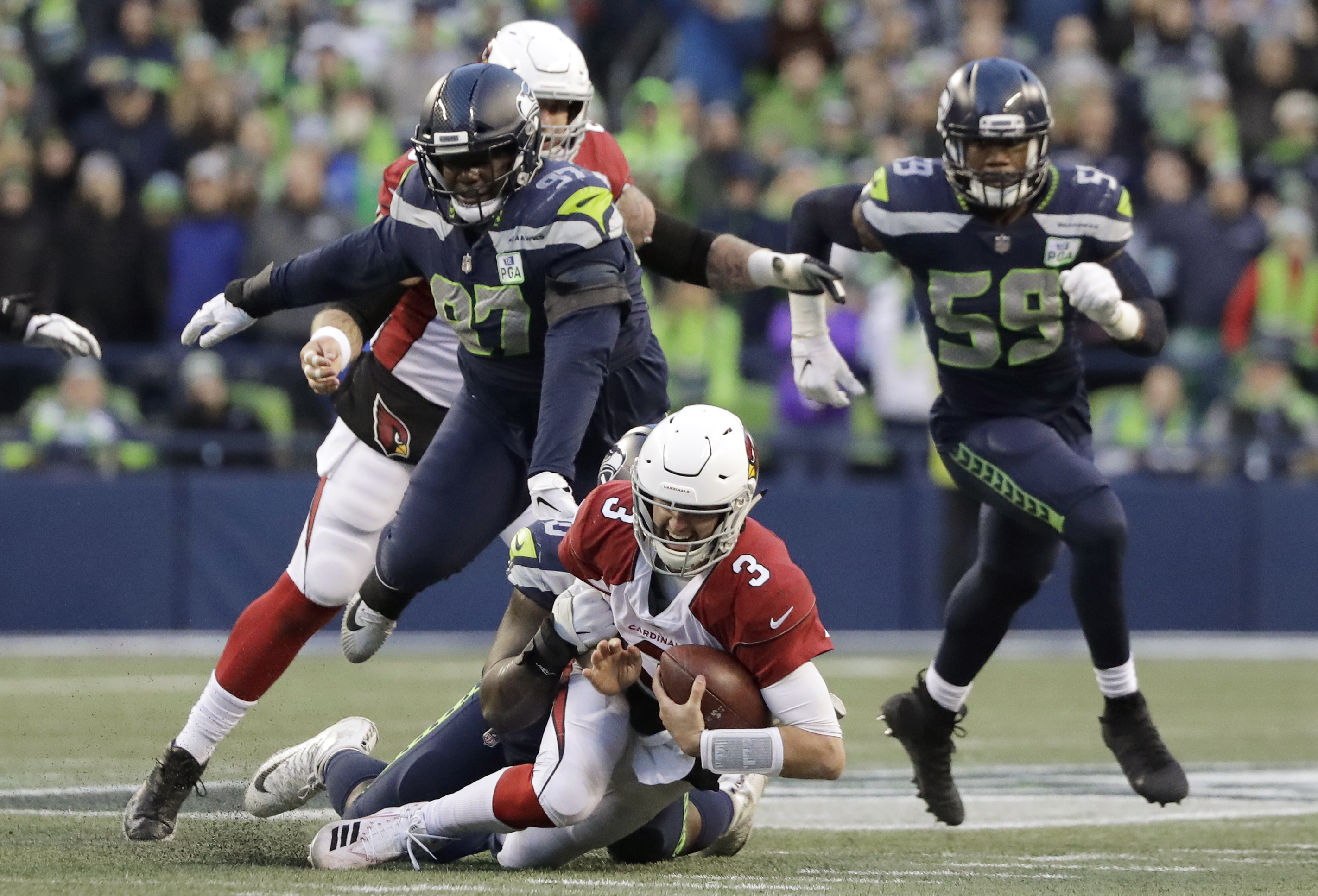 Seahawks have solved pass rush question with Reed and Clark