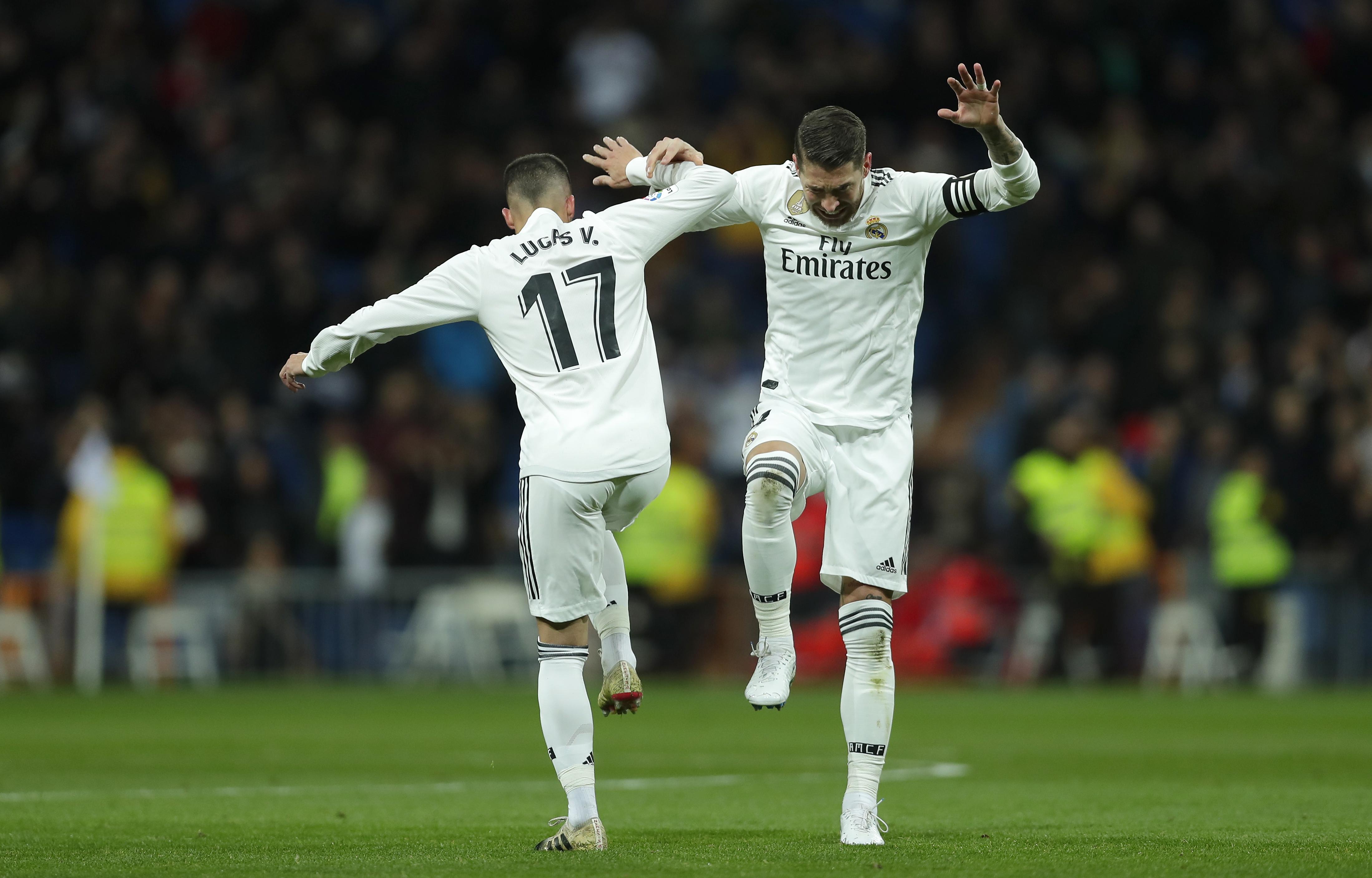 Madrid beats Girona in 1st leg of Copa del Rey quarterfinals