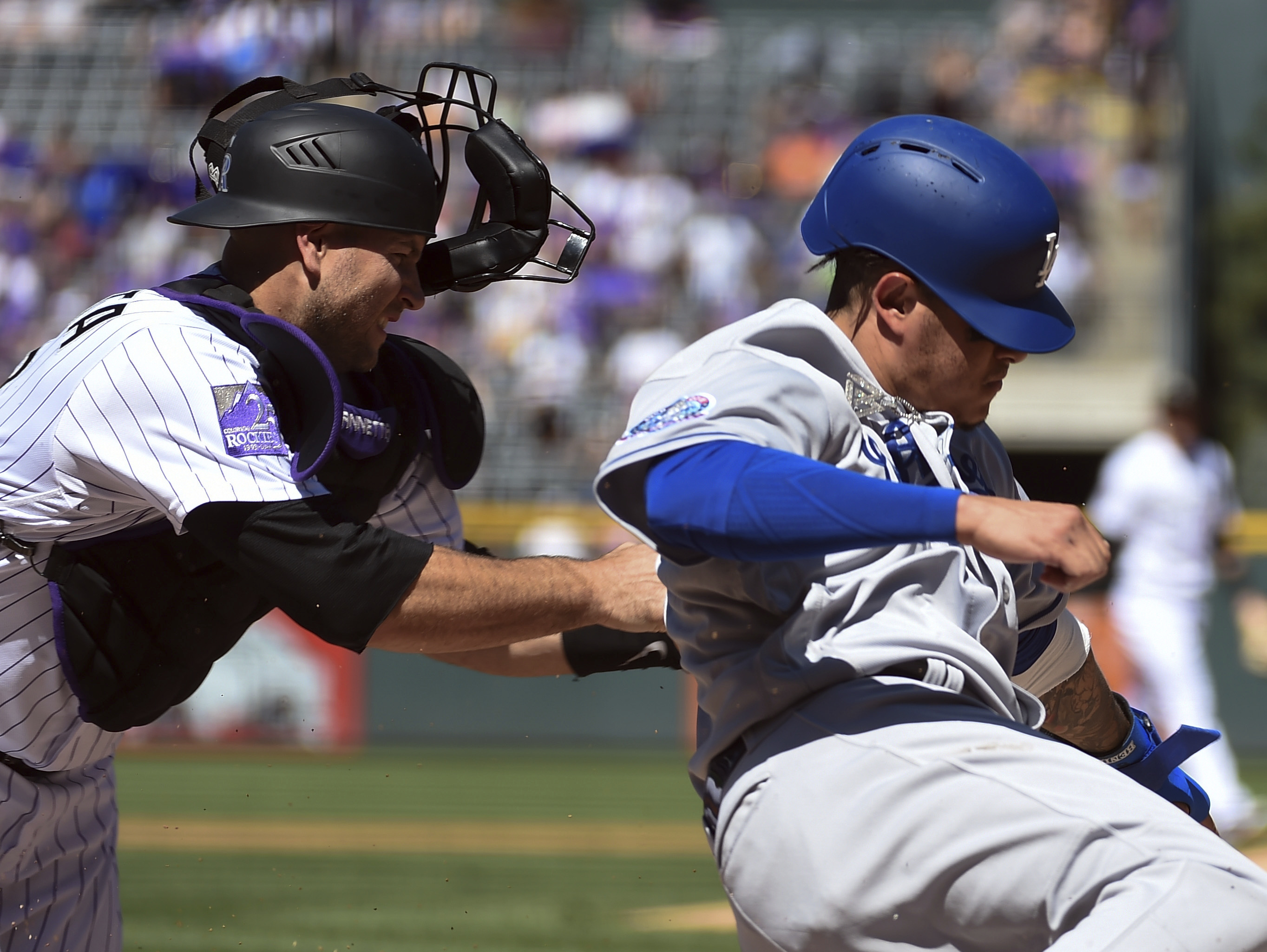 Turner's 4 hits lift Dodgers past NL West-leading Rox 9-6