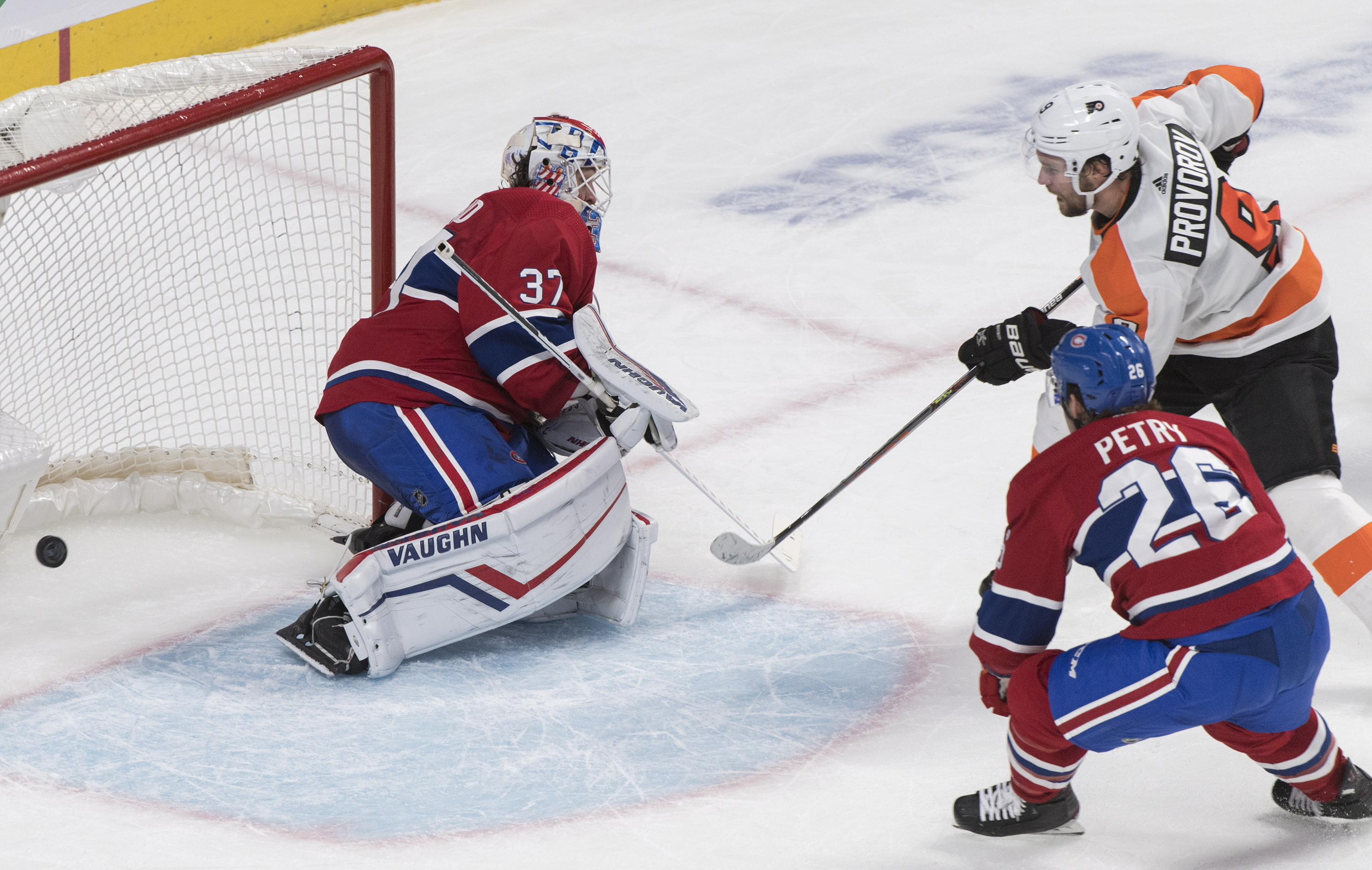 Provorov scores in OT, Flyers beat Canadiens 4-3