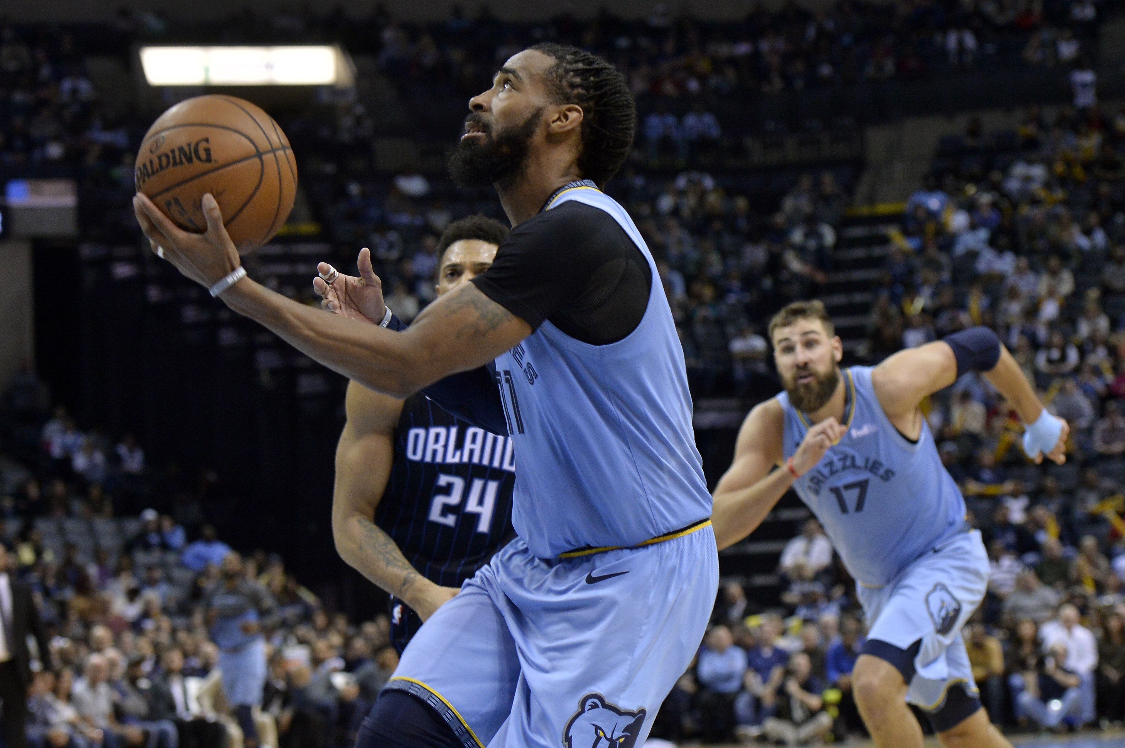 Conley leads the way as Grizzlies rally to beat Magic 105-97