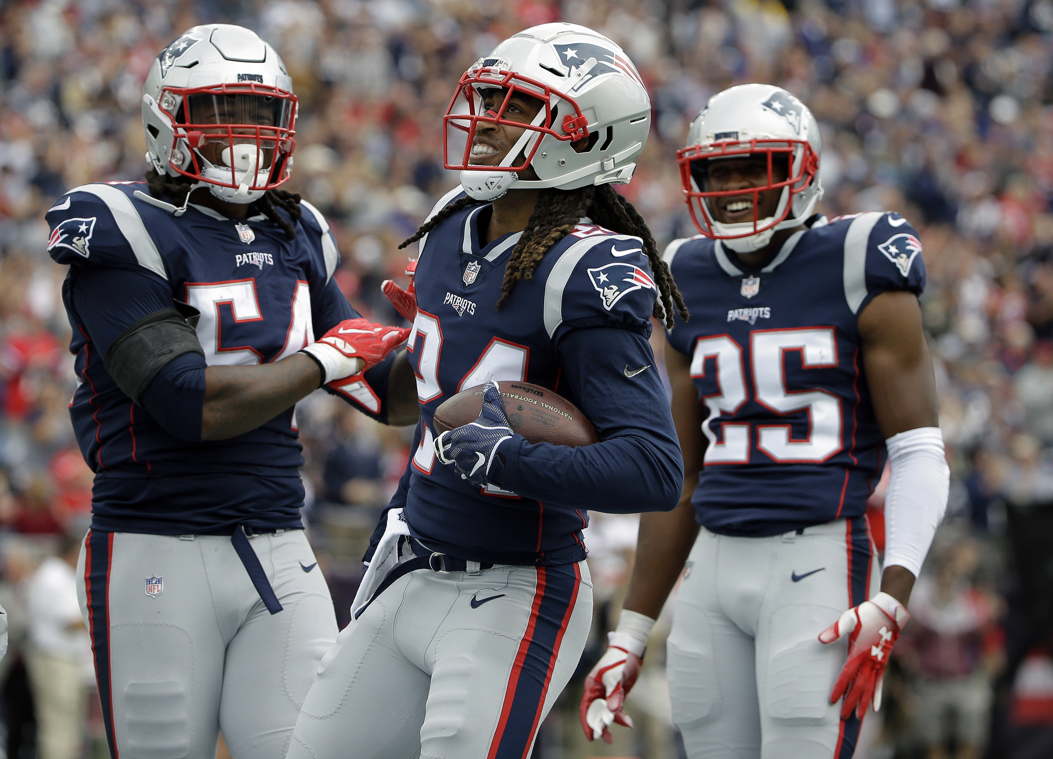 Gilmore has quietly made major noise in Pats' Super Bowl run