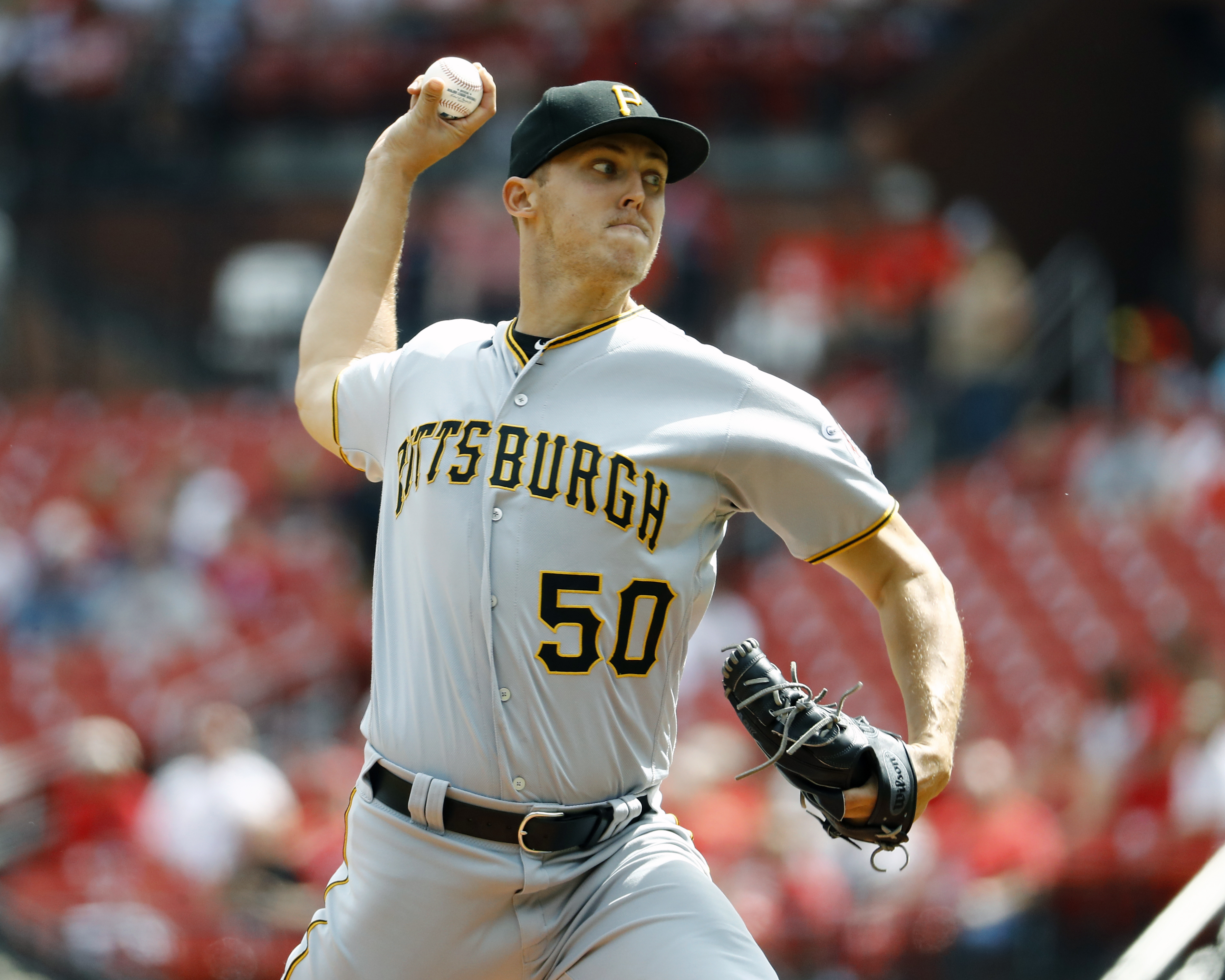Taillon helps Pirates to 4-3 win, slowing Cardinals