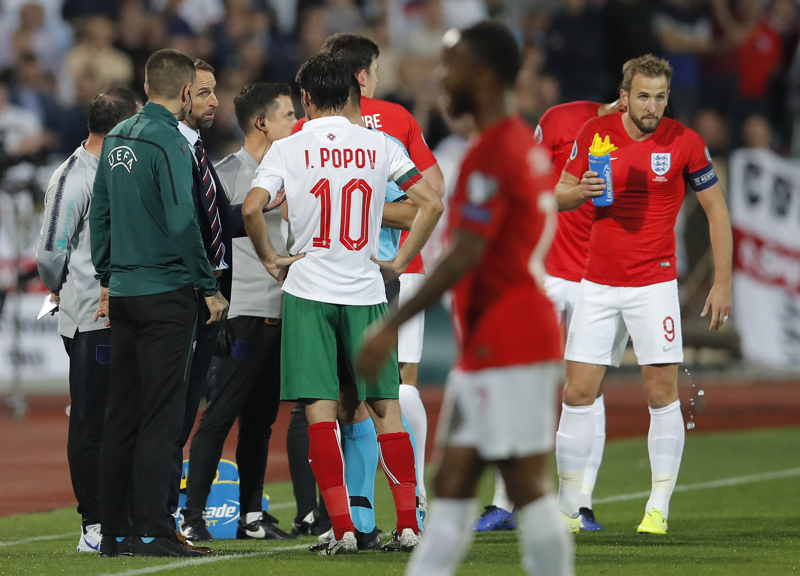 Racist abuse, military salutes mar European qualifying