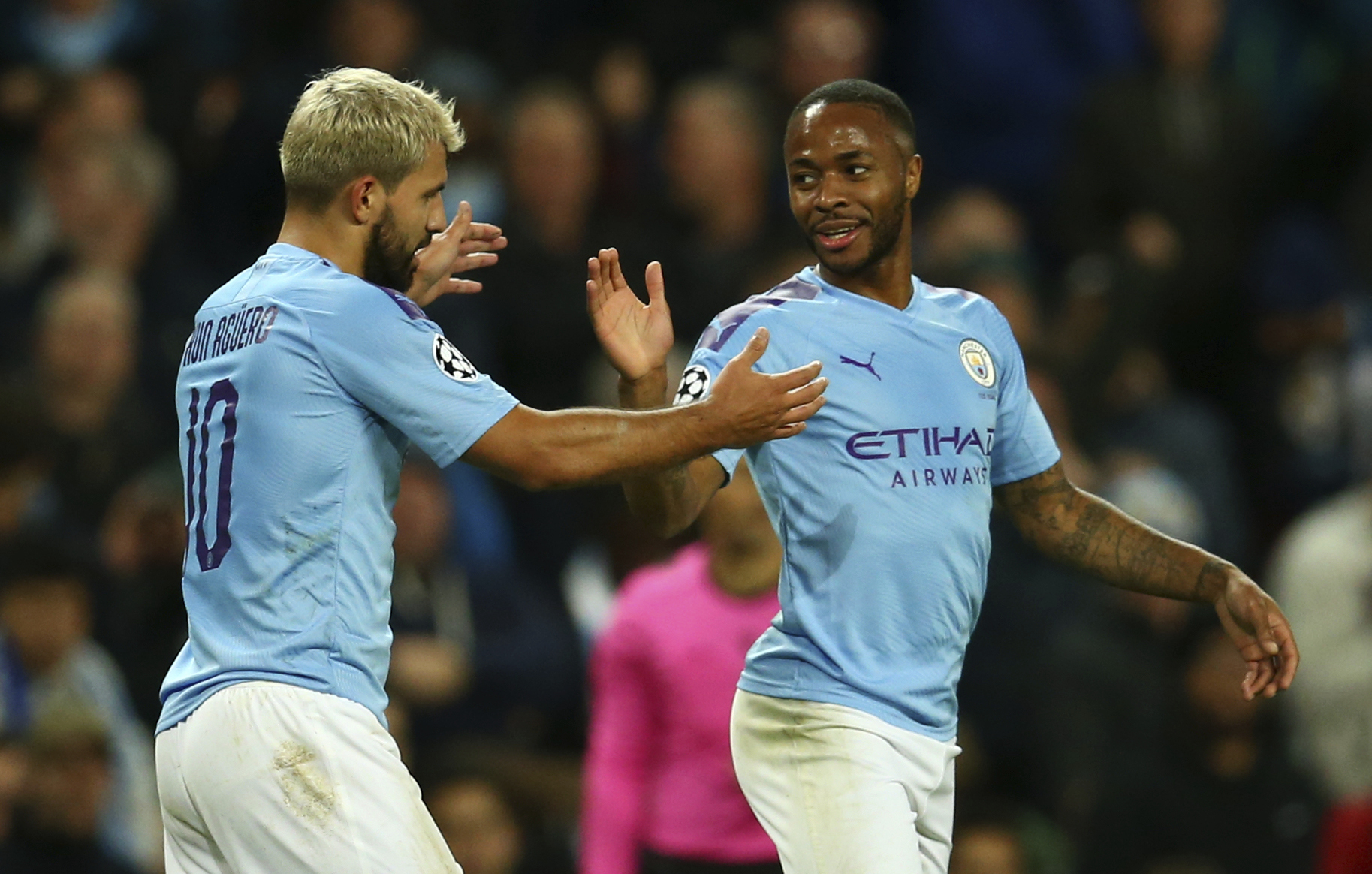 Sterling nets hat trick as City beats Atalanta 5-1 in CL