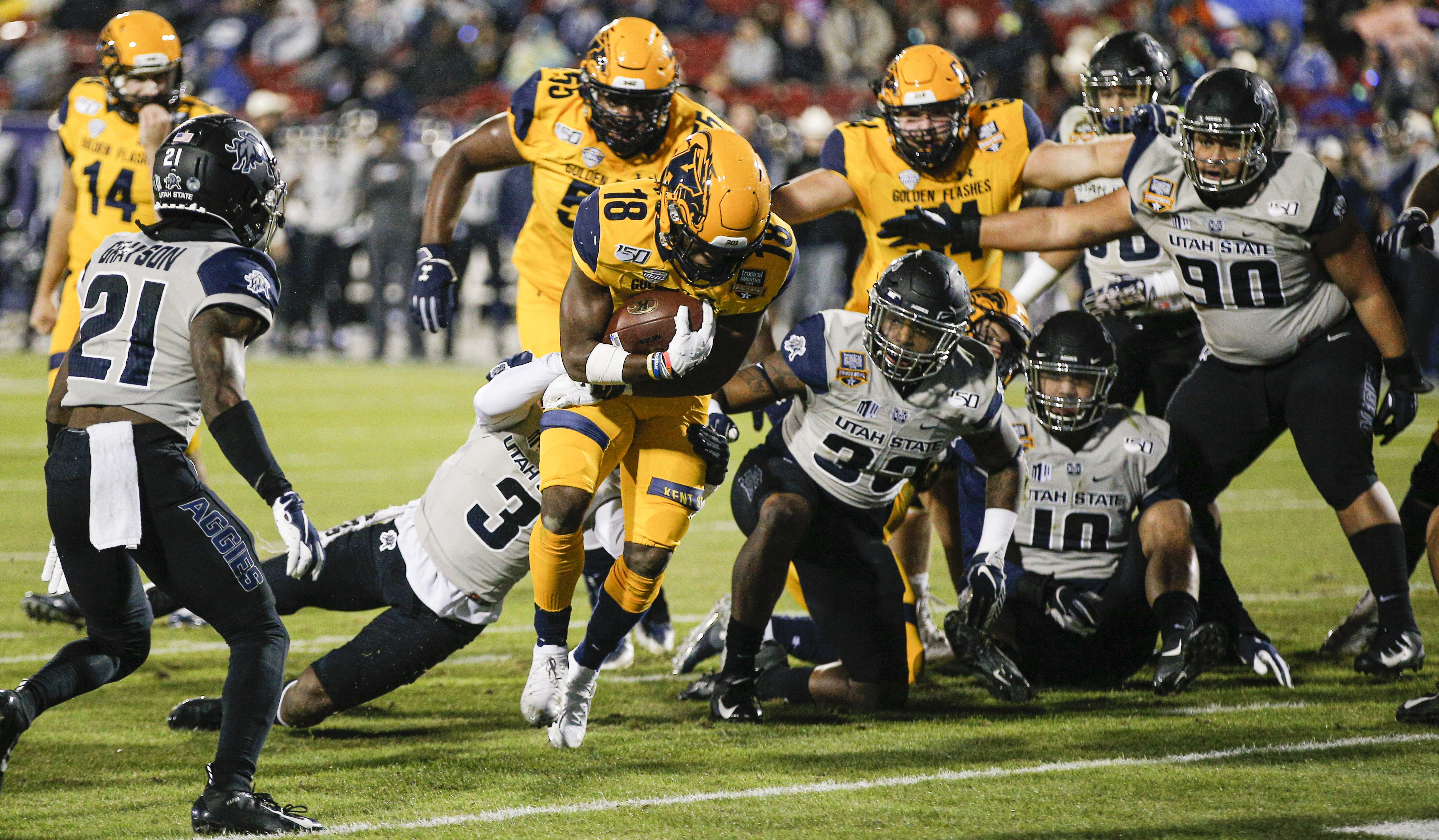 MAC's Kent State, Buffalo each get first bowl victory