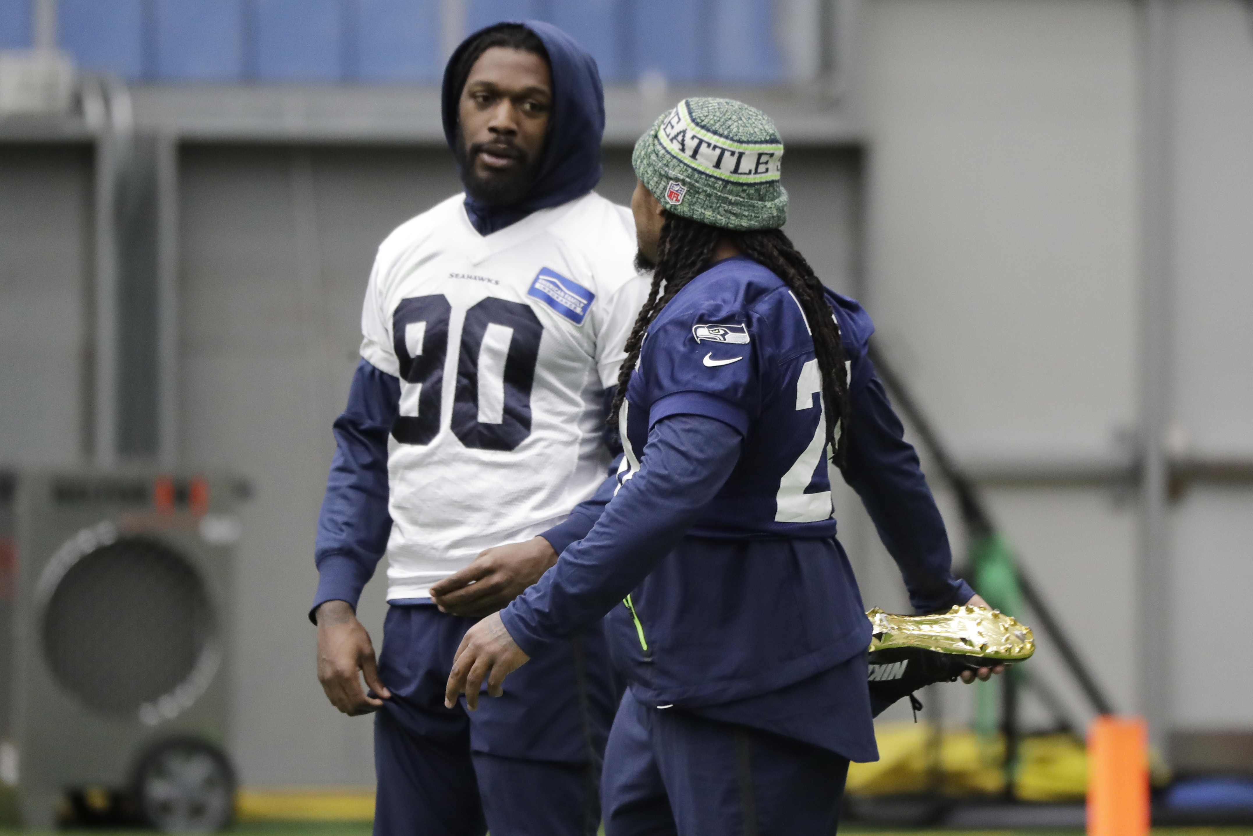 Seahawks get Diggs back, expect Clowney to play vs. Eagles