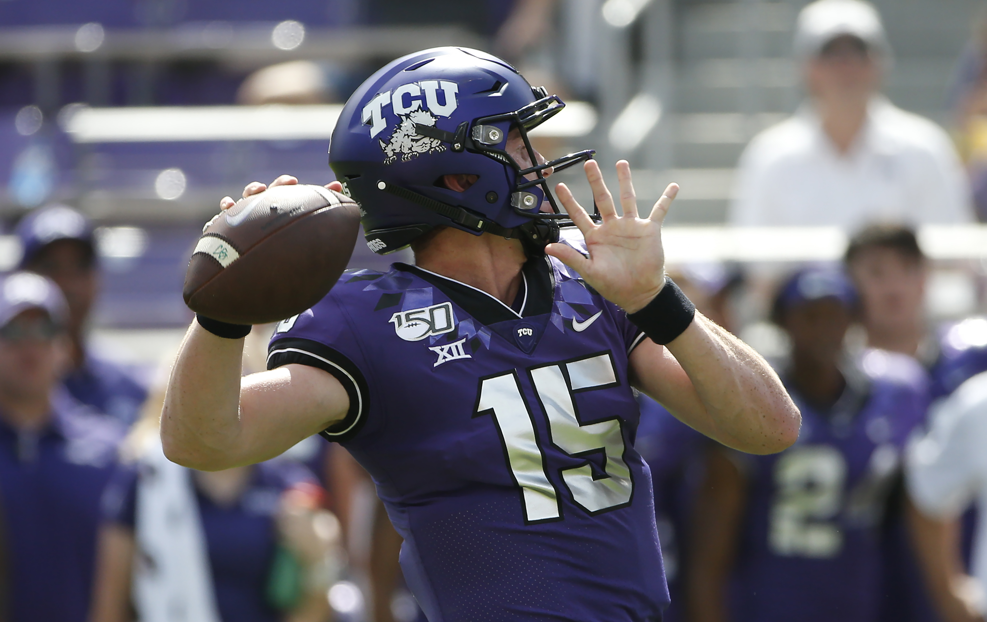 Big 12: TCU takes fresh QB home to face Iowa State
