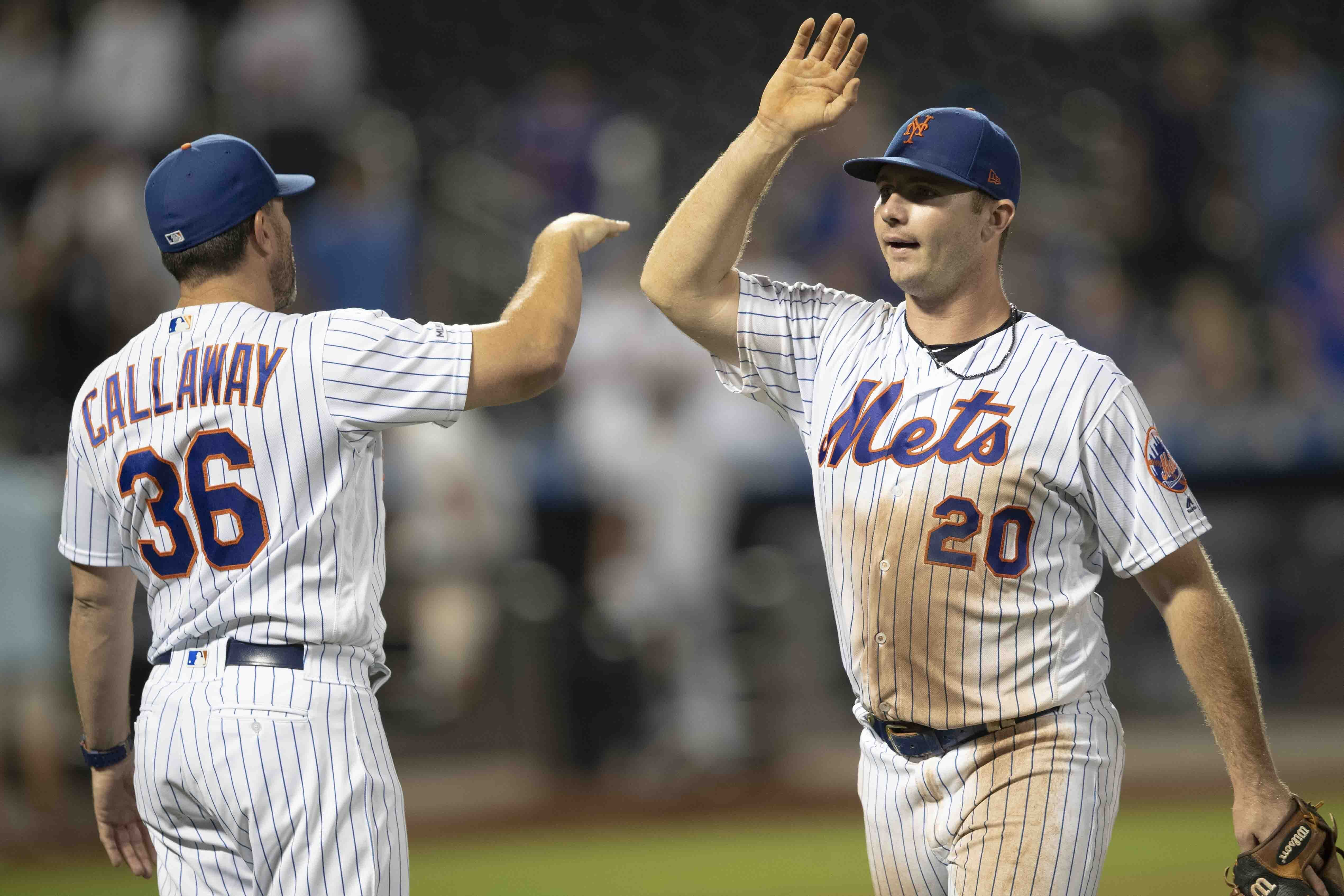 LEADING OFF: Mets rolling, Yelich resting, Torres exits