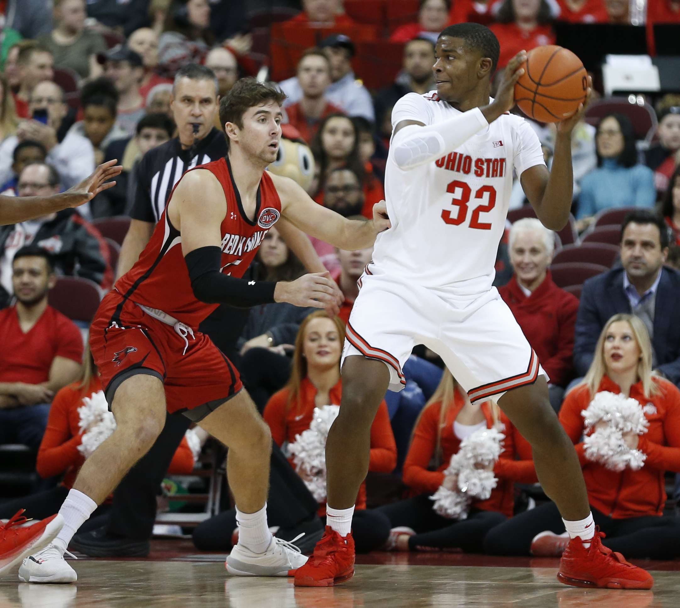 No. 5 Buckeyes bounce back, rout Southeast Missouri State
