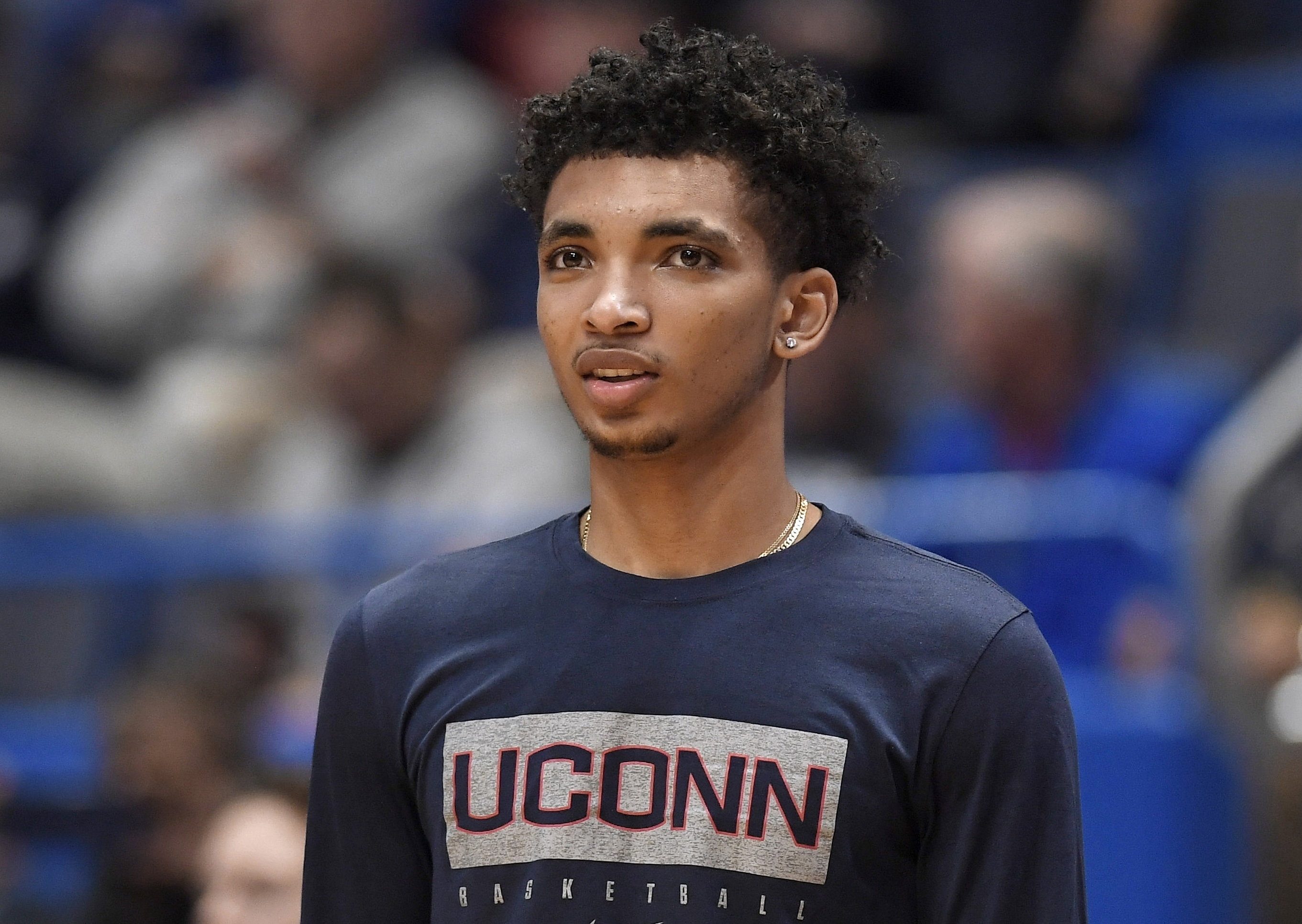 UConn guard charged with evading police is granted probation