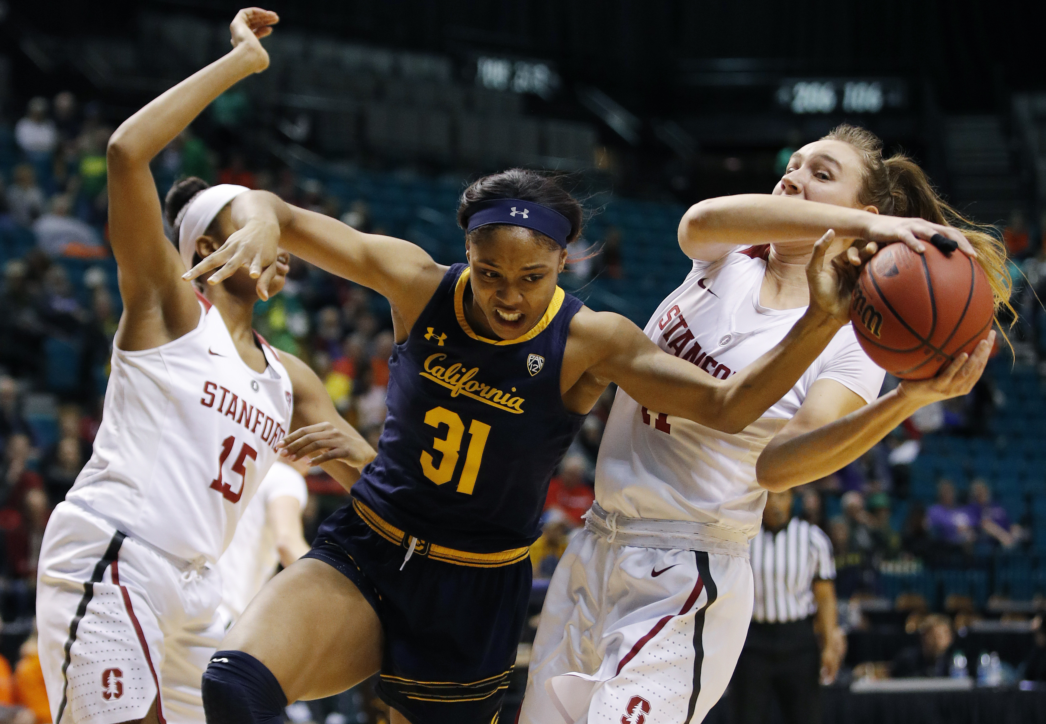No. 7 Stanford beats Cal in Pac-12 tourney quarterfinals