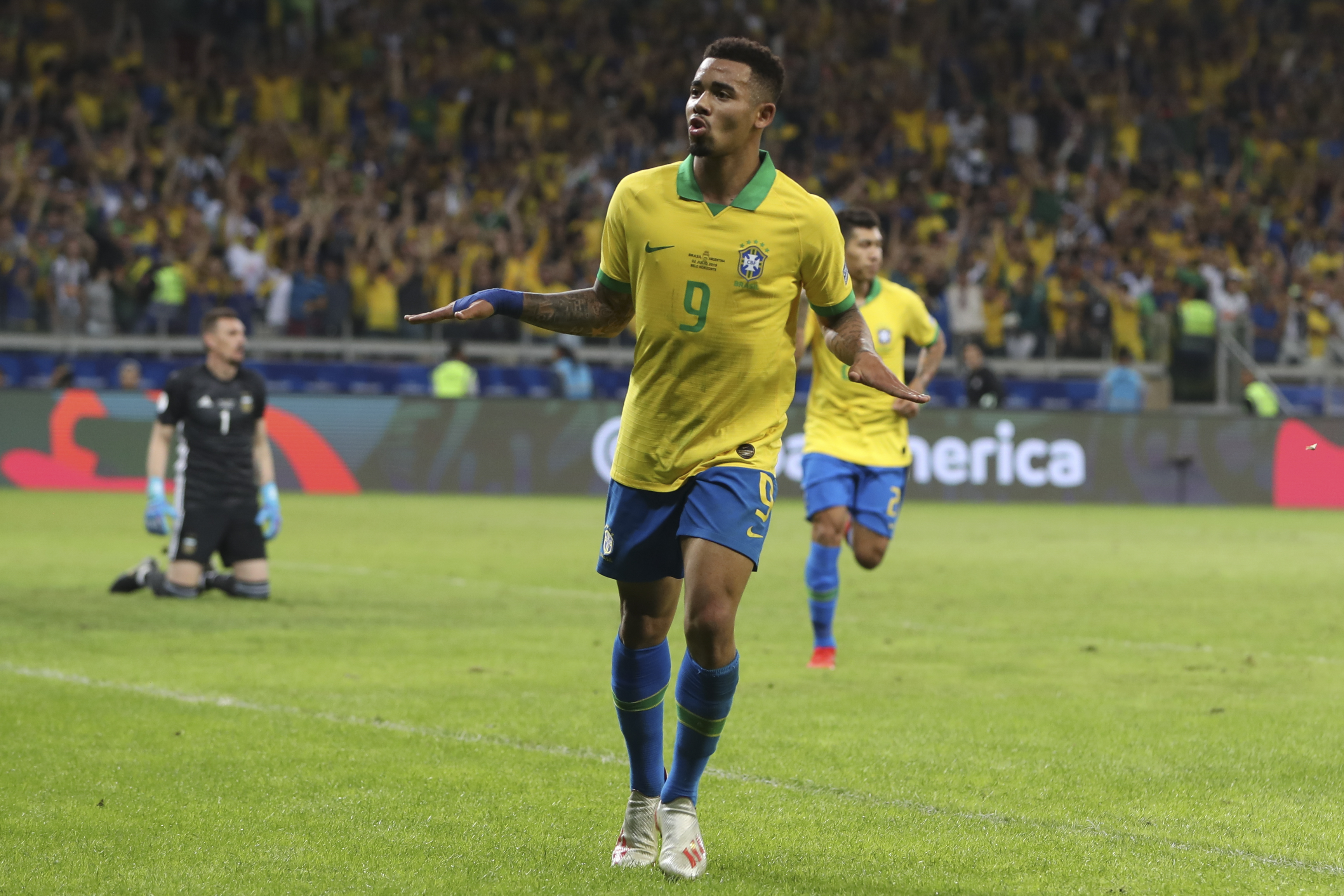 Brazil beats Argentina and advances to Copa América final