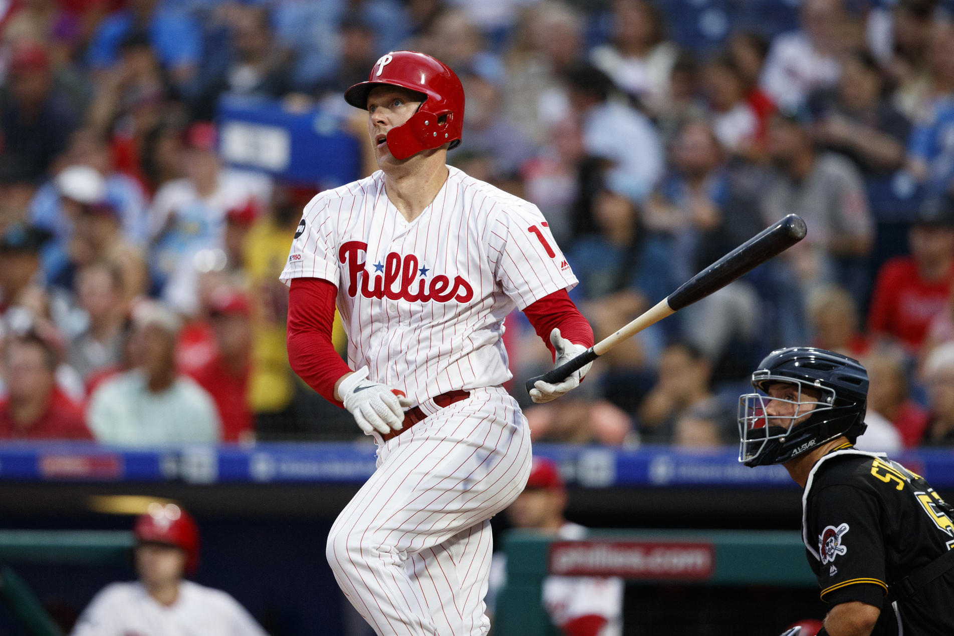 Realmuto powers Phillies to 12-3 rout of Pirates