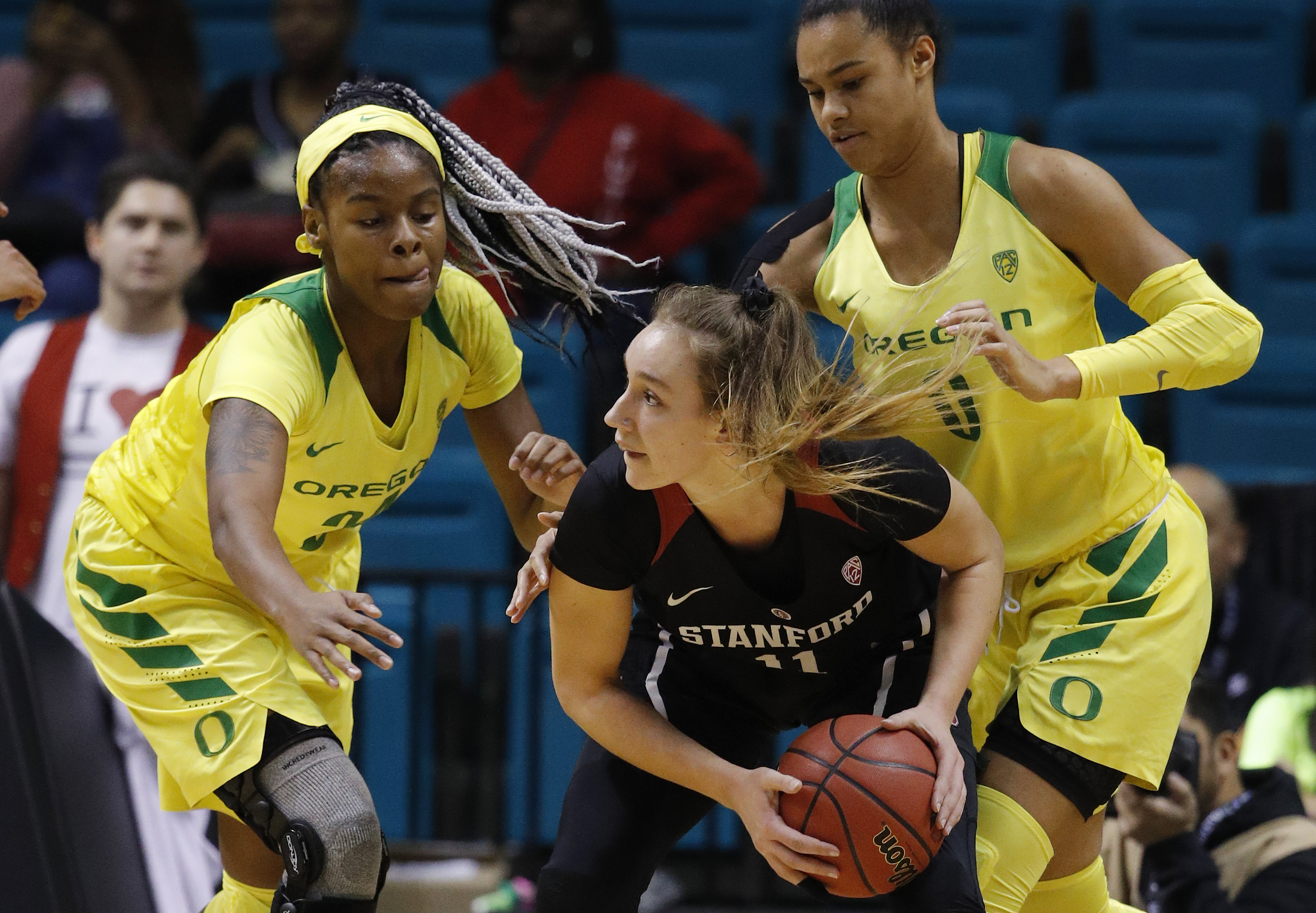 Stanford beats Oregon to win Pac-12 Tournament title