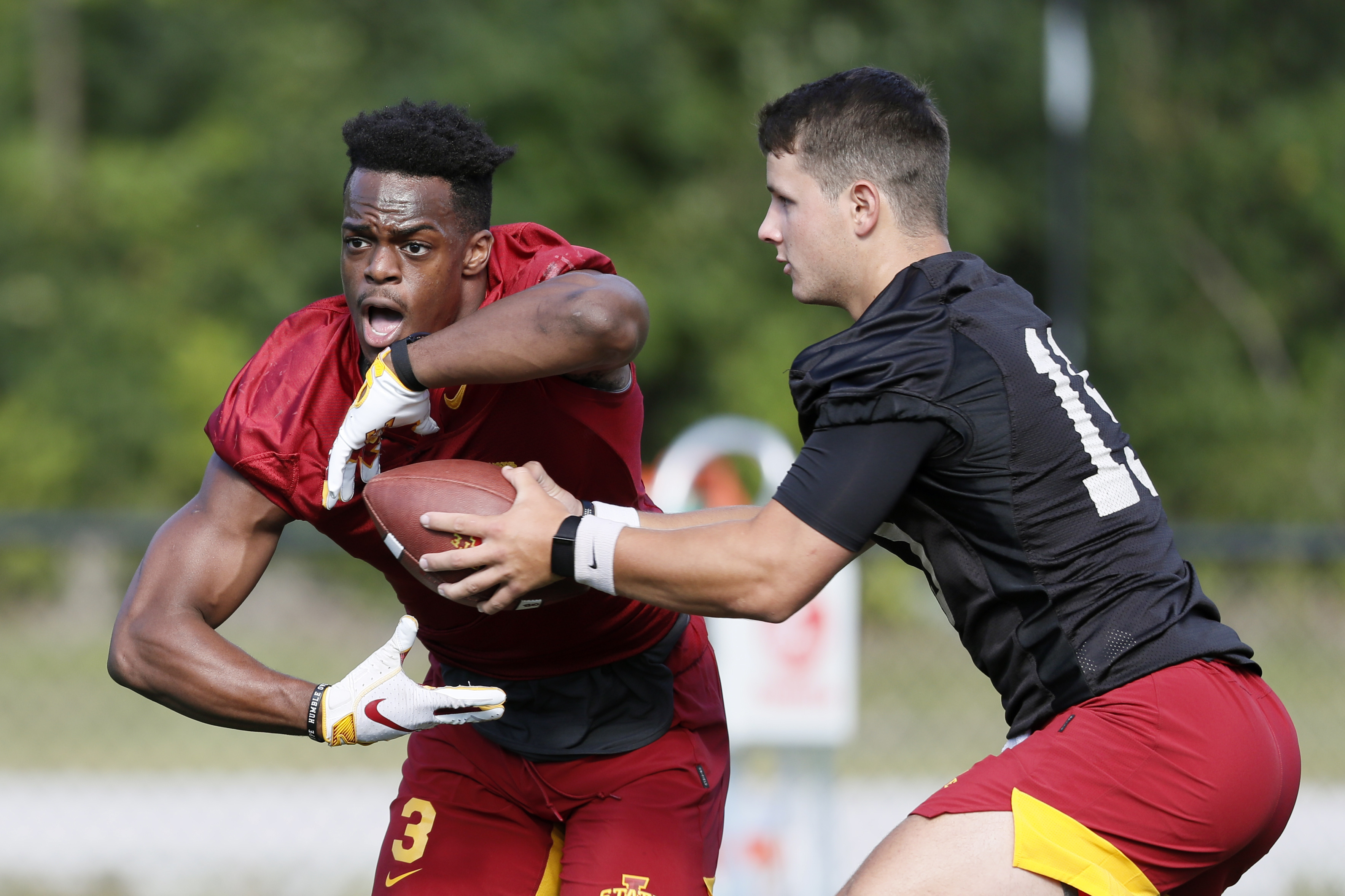 No. 21 Iowa St looks to its offensive line as strength