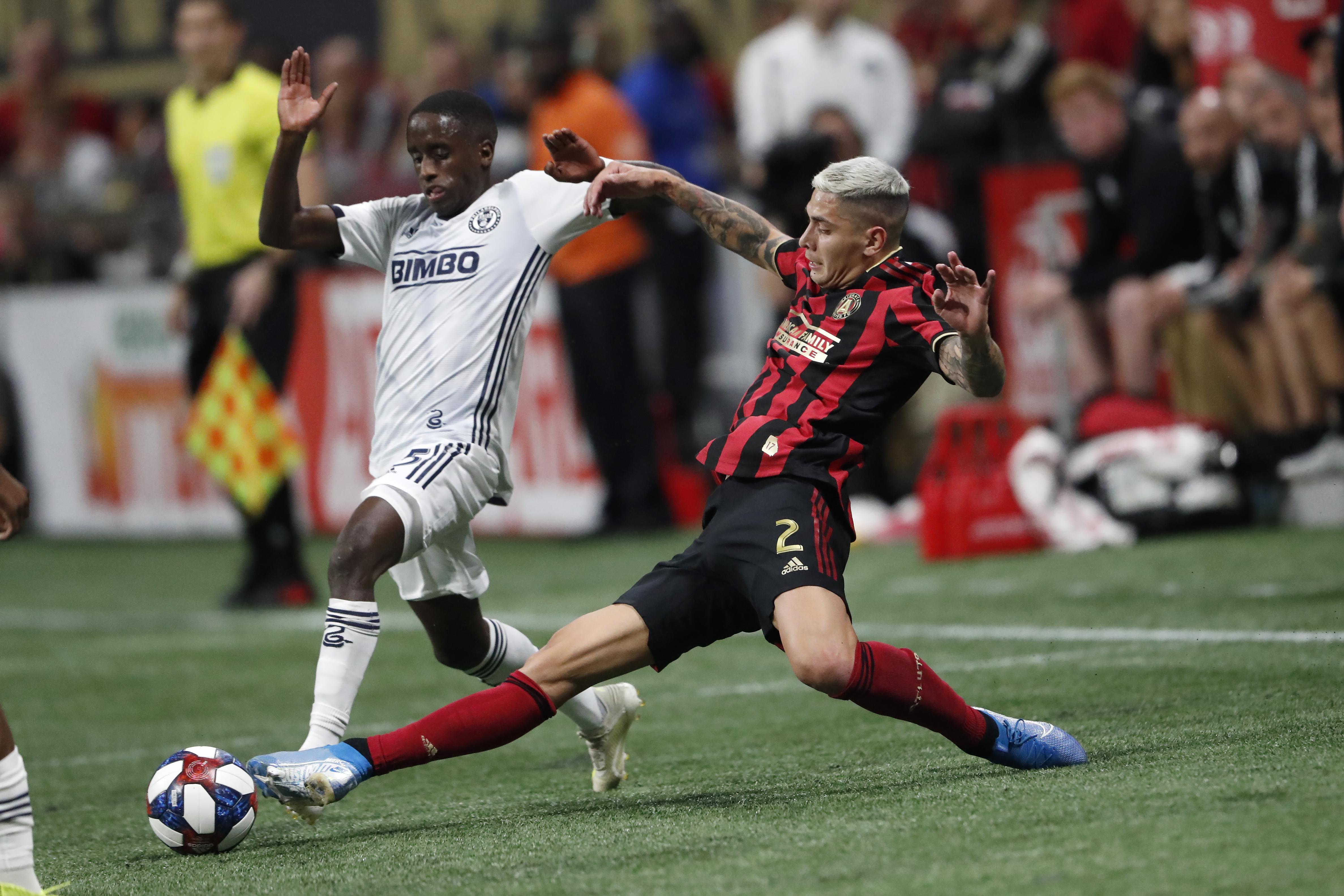 Gressel, Josef Martinez push Atlanta United past Union, 2-0