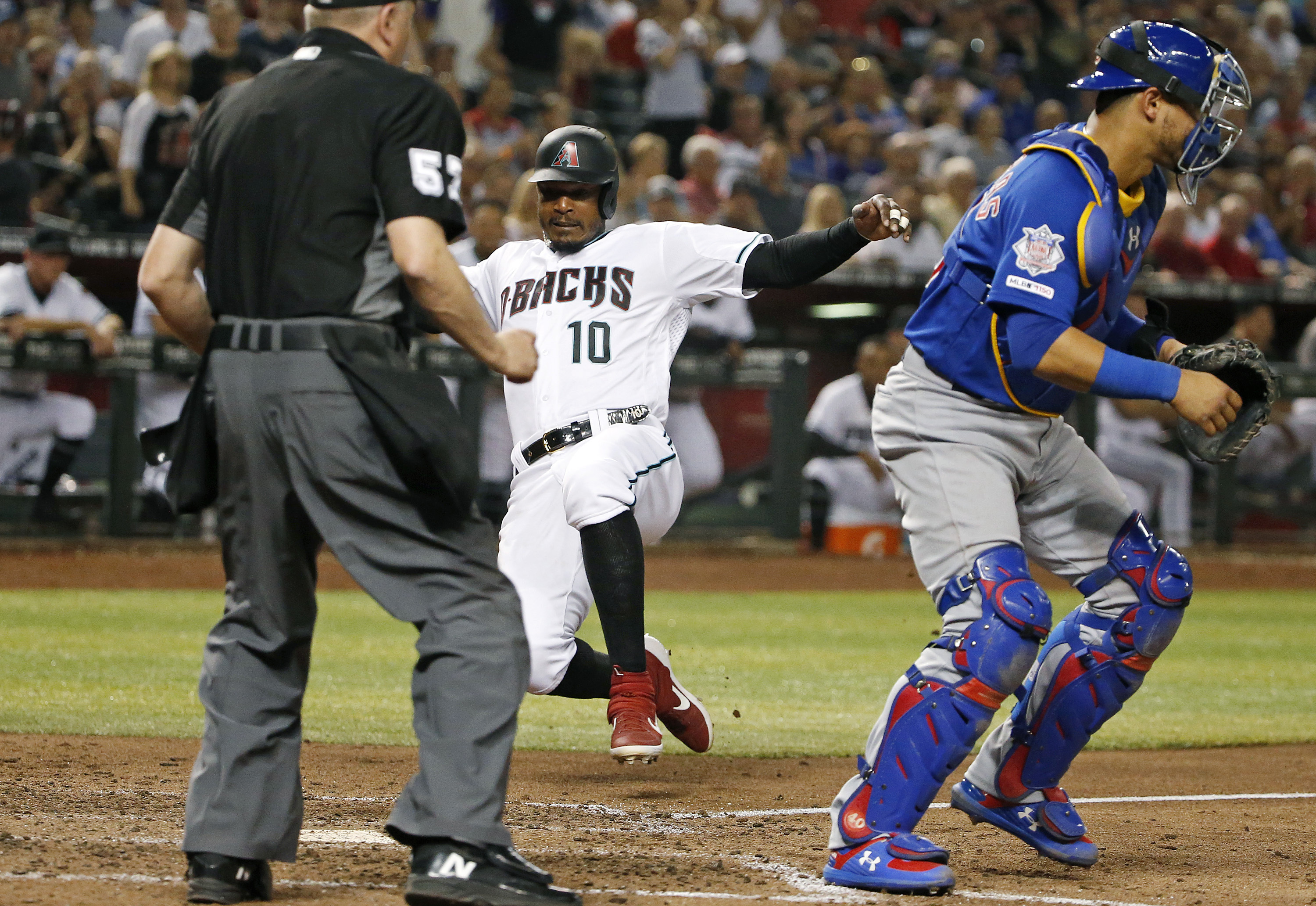Flores helps Diamondbacks beat Cubs 8-3 for 5th straight win