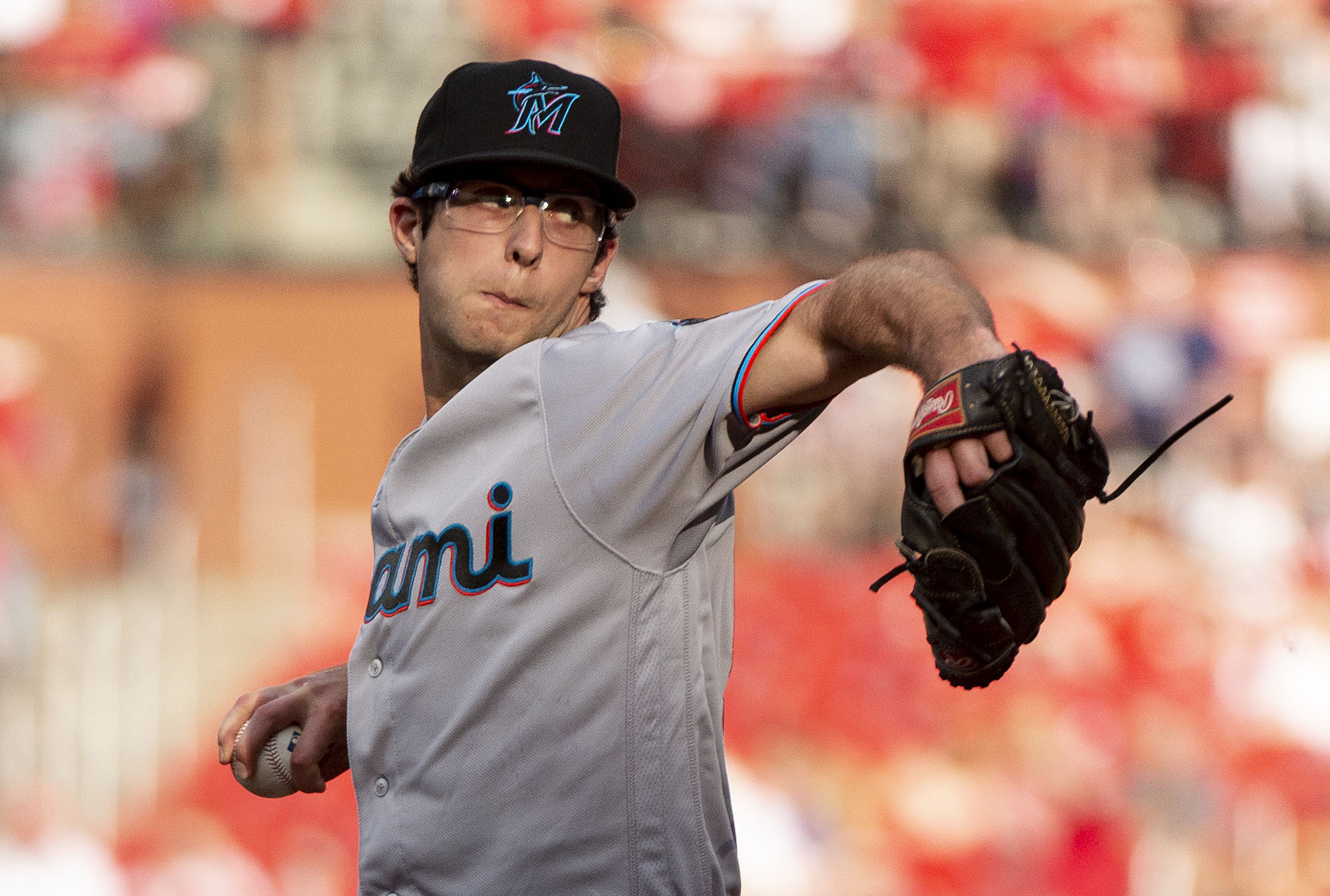 Riddle's homer in 11th lifts Marlins over Cardinals, 7-6